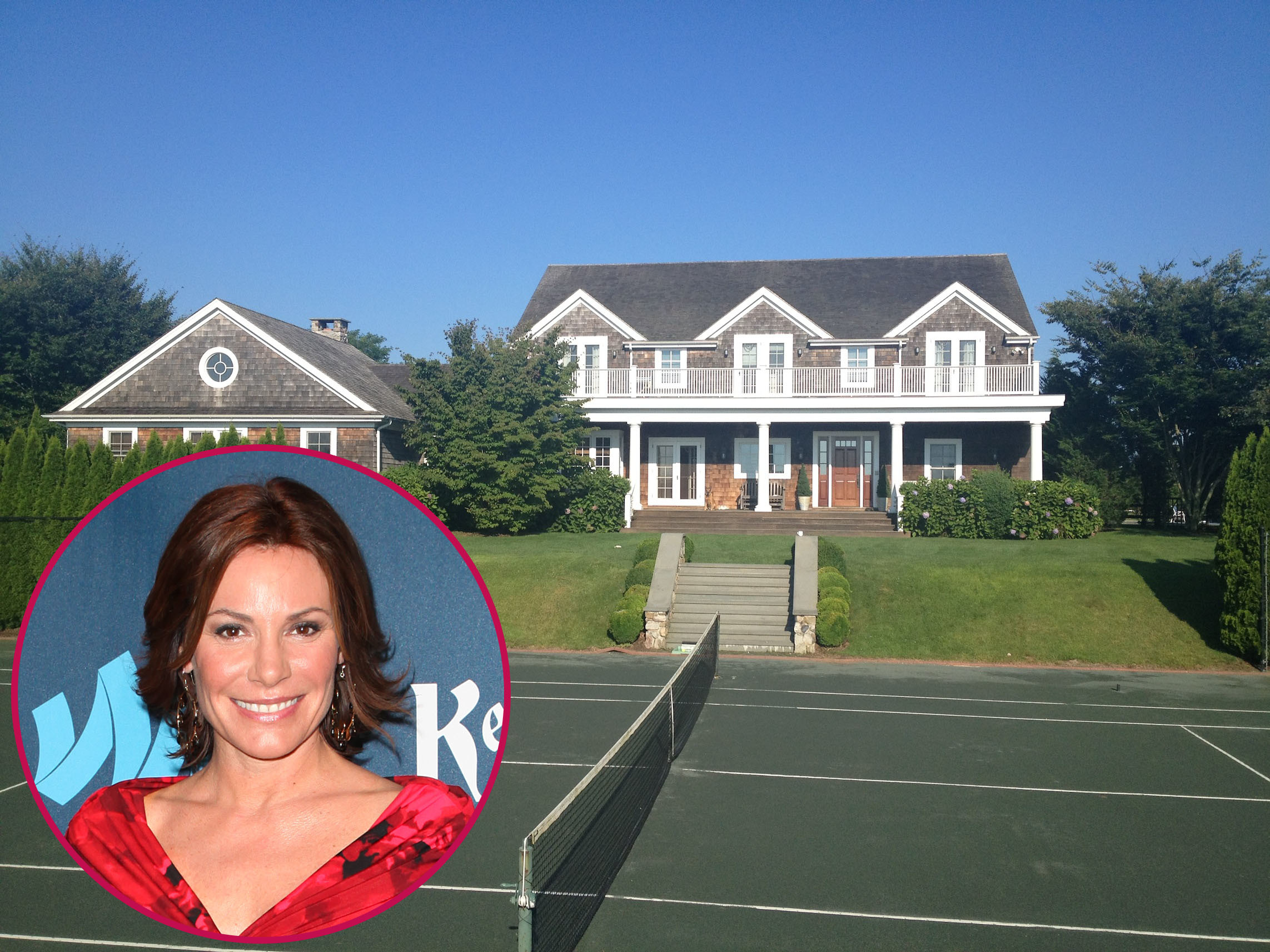LuAnn De Lesseps Real Housewives of New York City Hamptons home