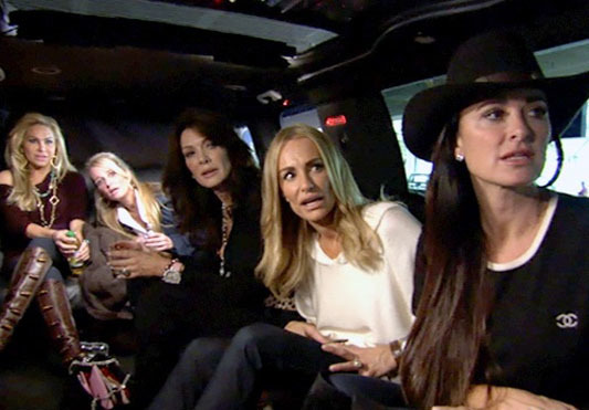 Real Housewives of Beverly Hills Limo limousine