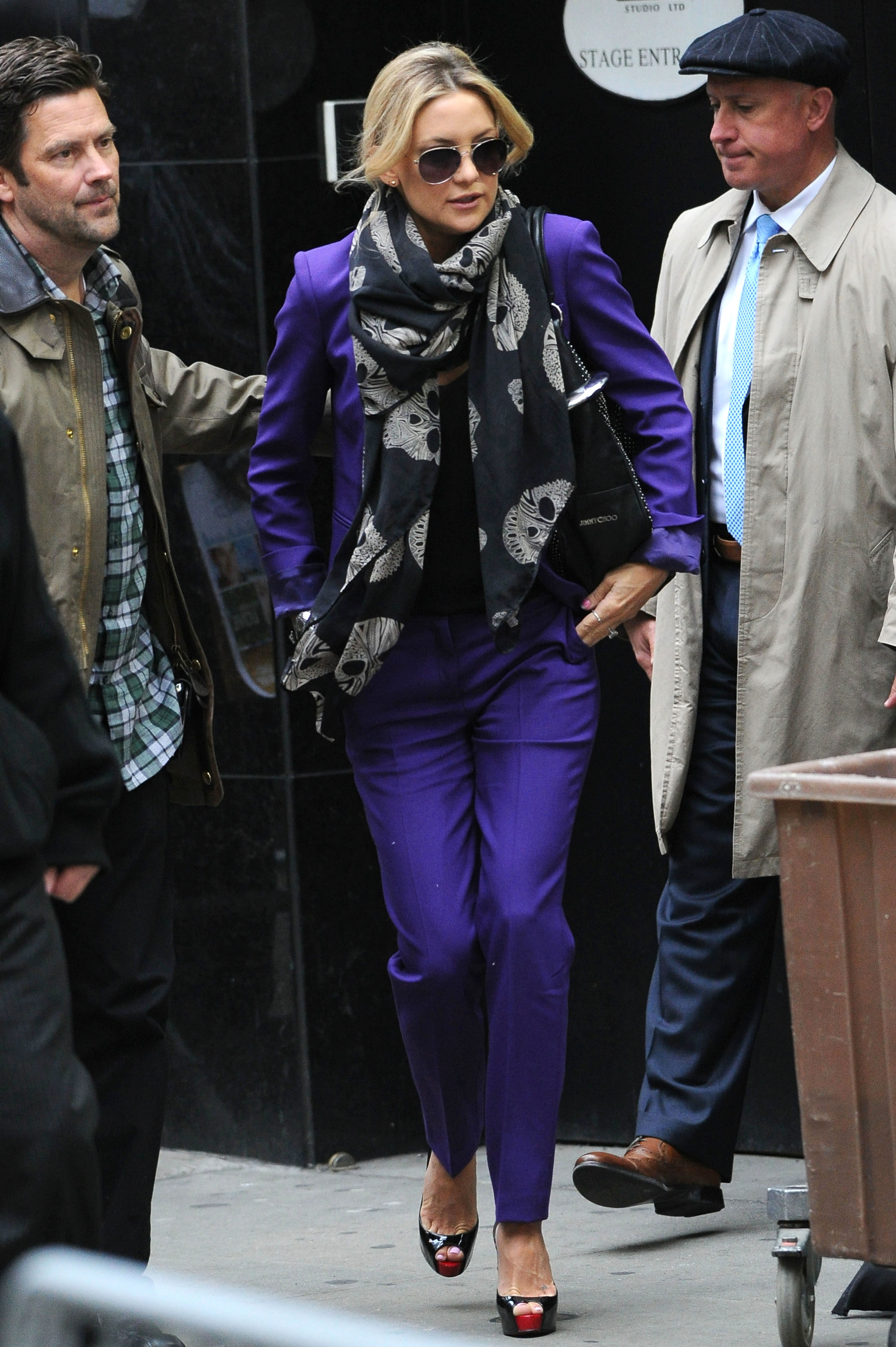 kate hudson trend report purple
