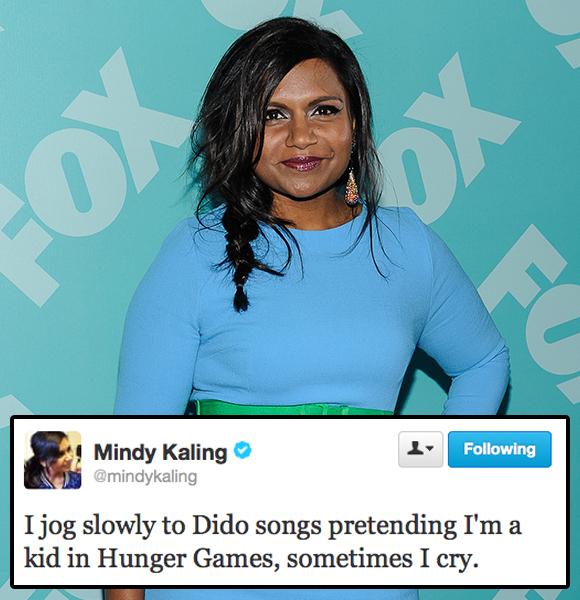 mindy kaling twitter