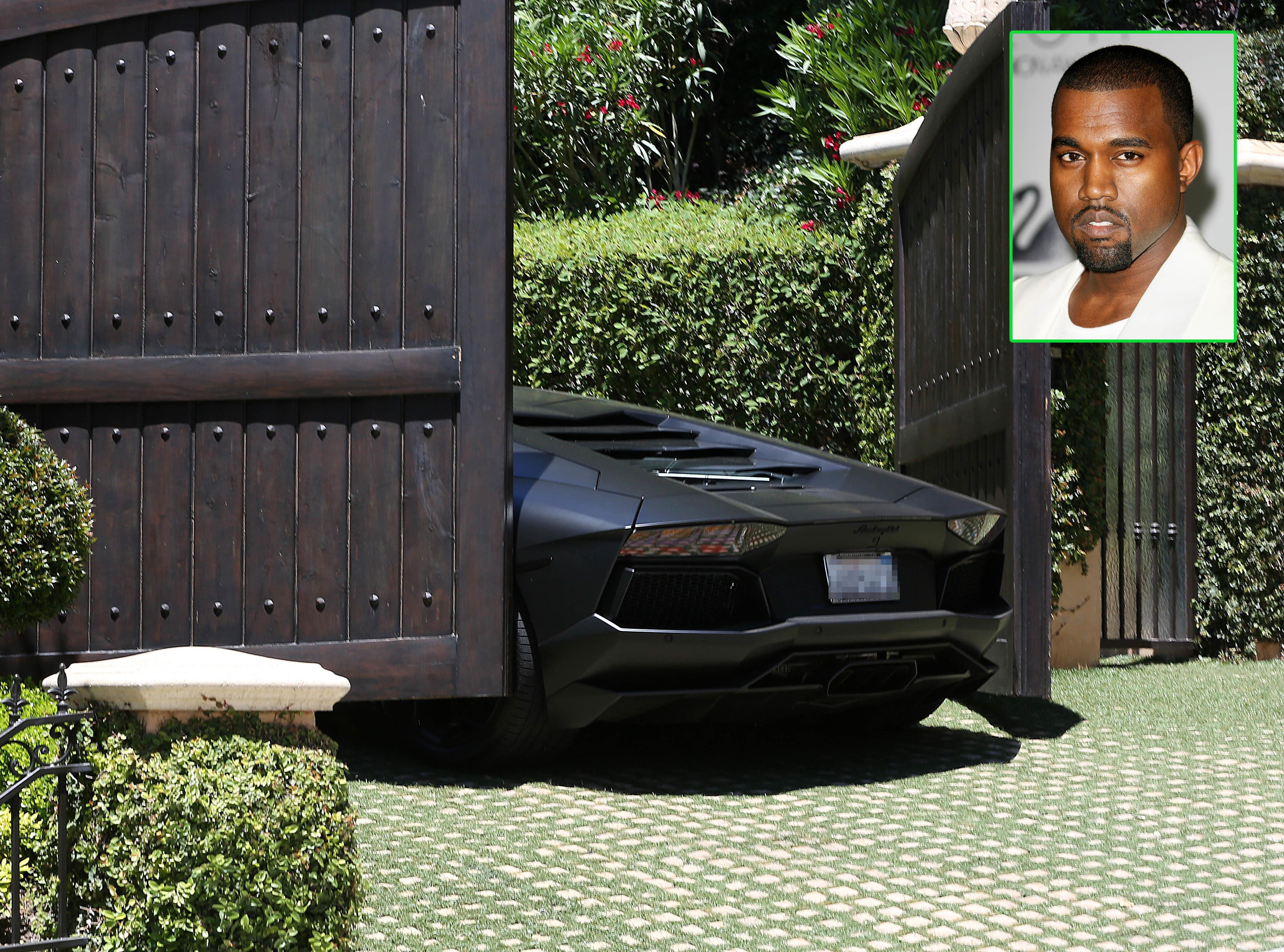Kanye west lamborghini