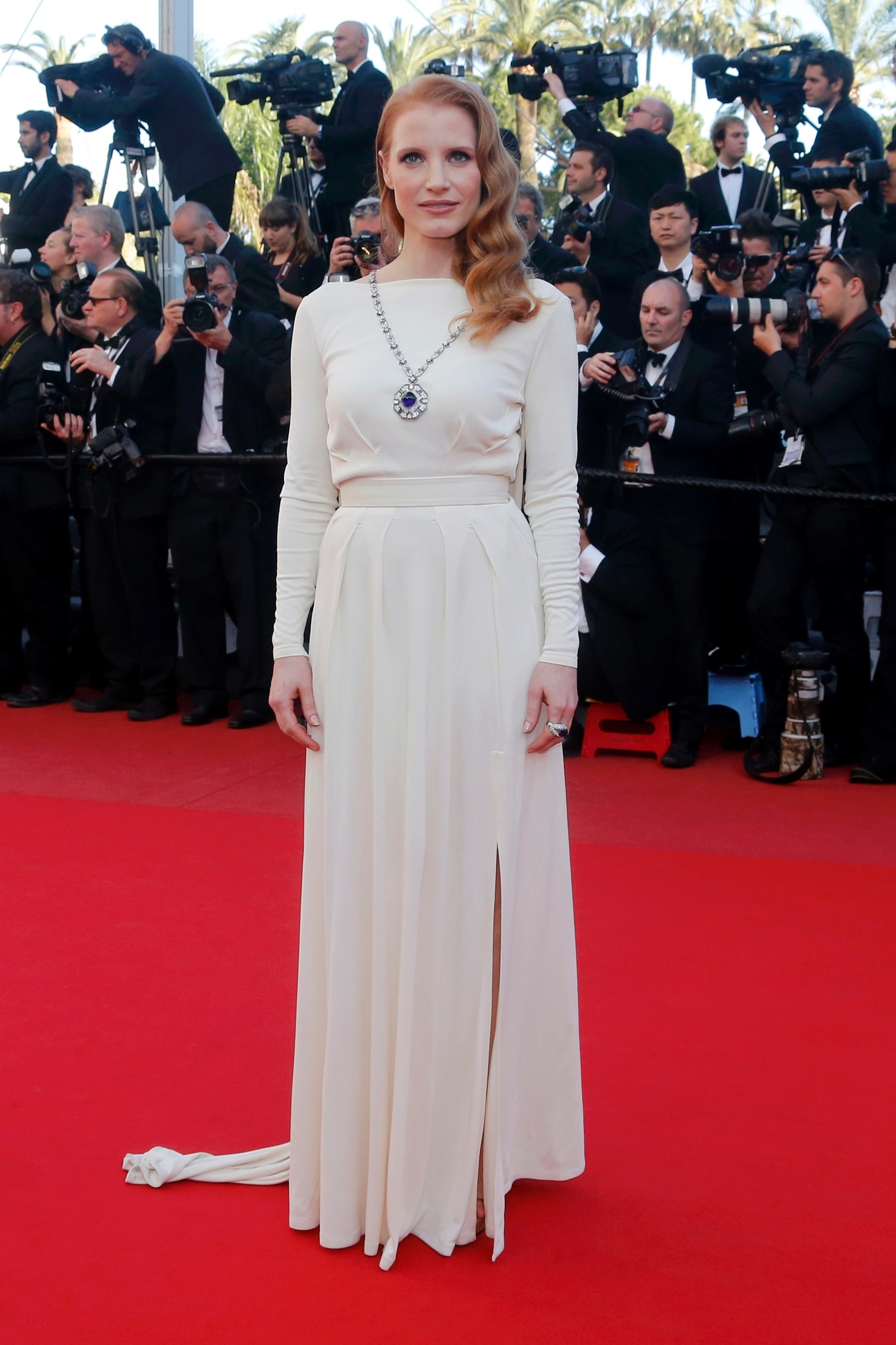 Jessica Chastain at Cannes