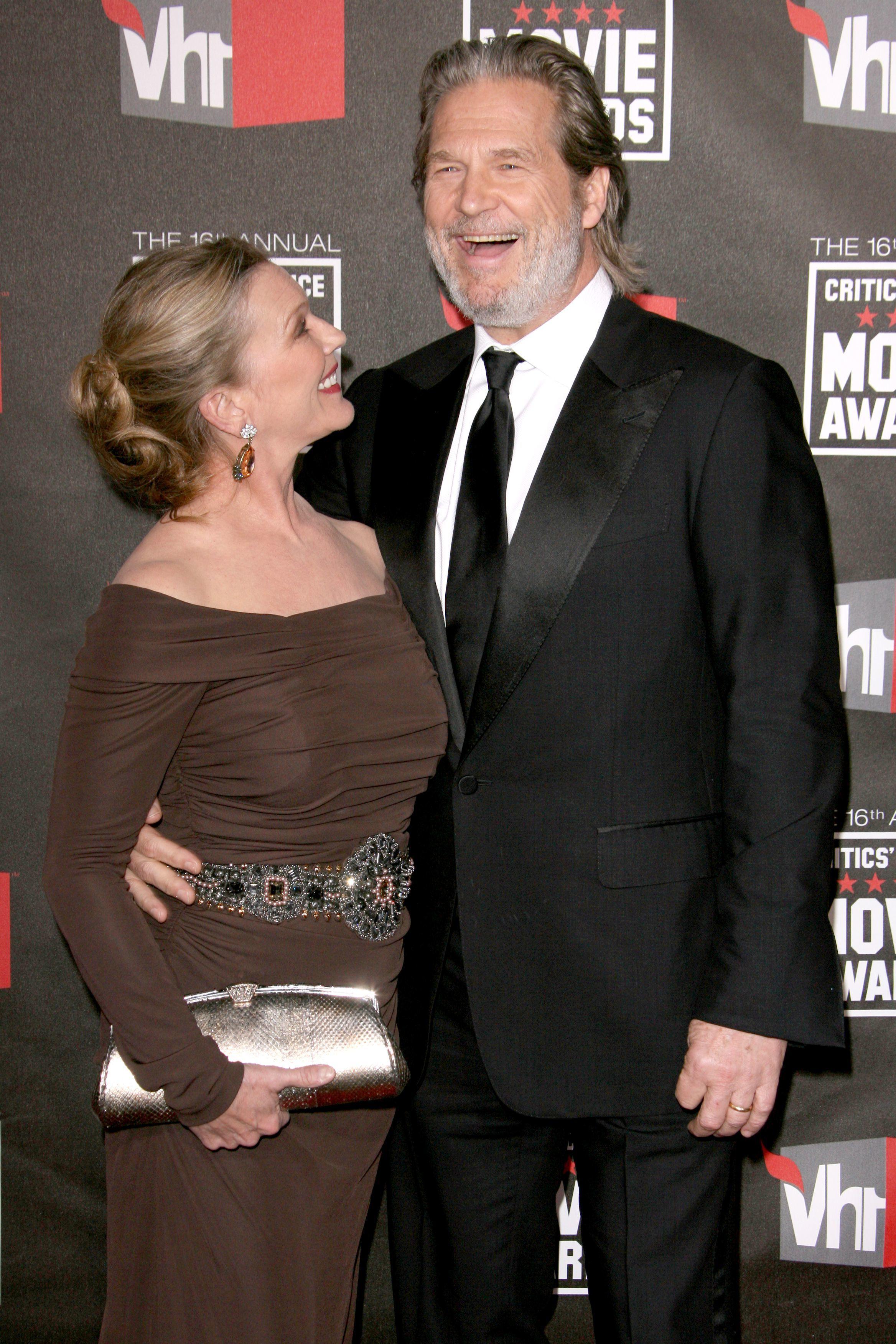 Jeff Bridges and Susan Geston long lasting celeb couple