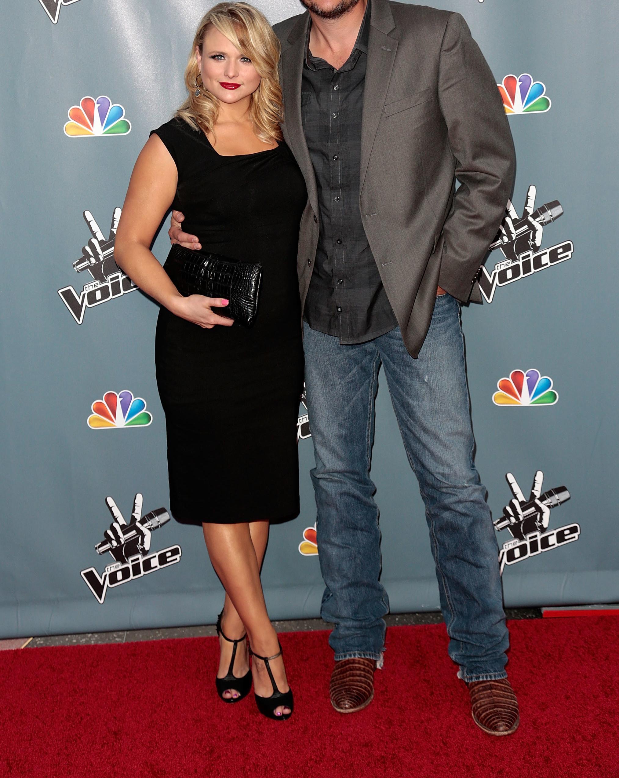 reveal guess the tall celeb guy Miranda Lambert and Blake Shelton