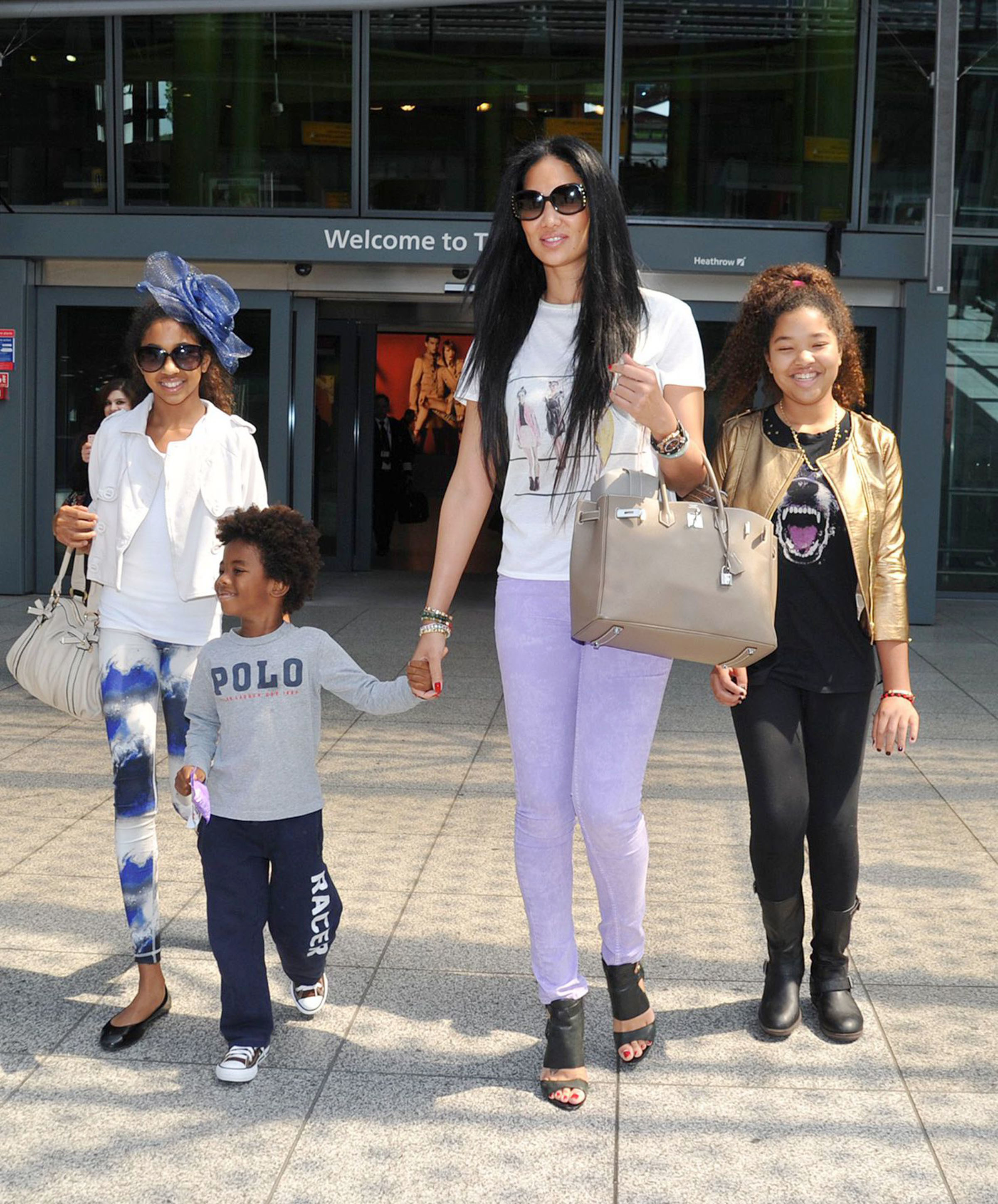 Kimora Lee Simmons out and about