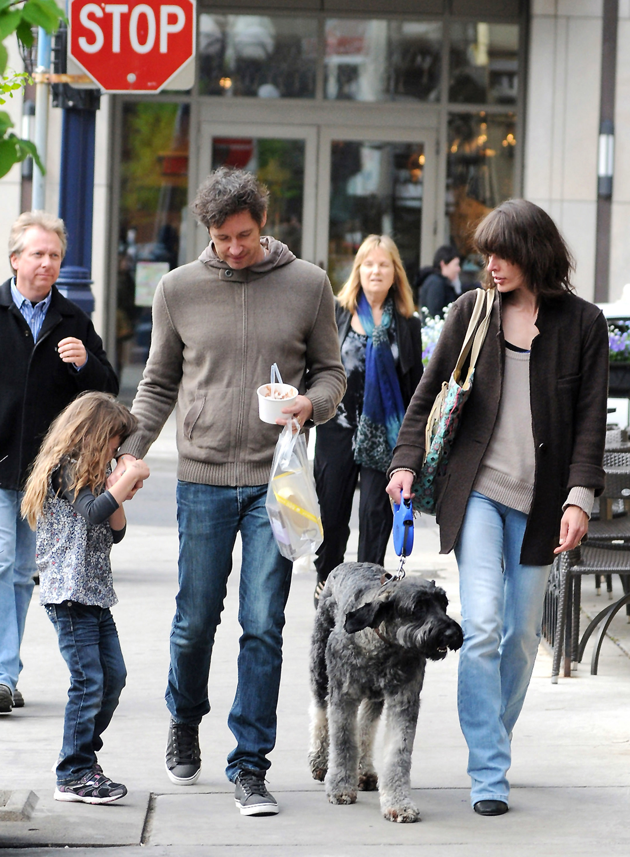 milla jovovich out and about