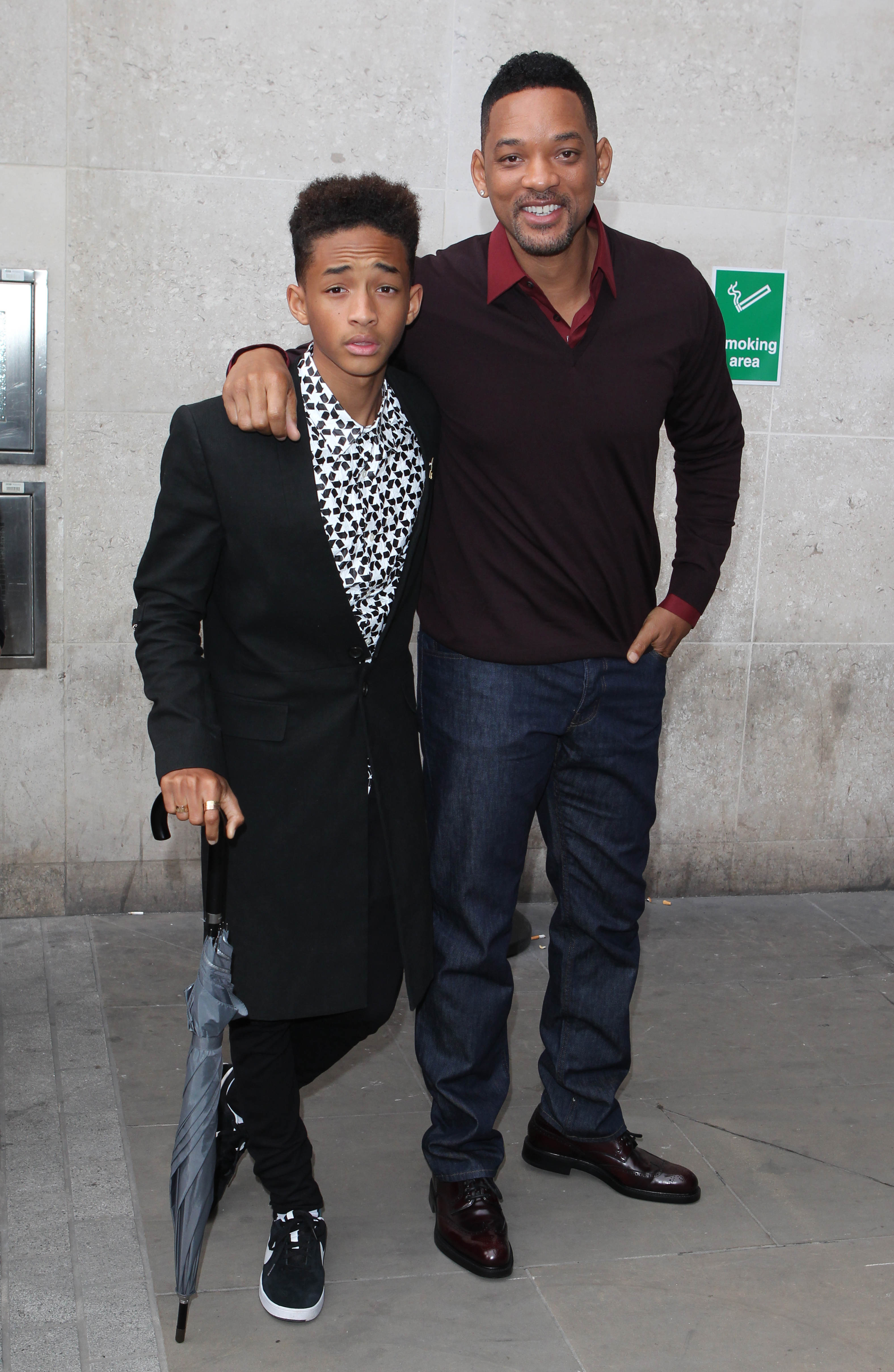 jaden smith worry never smile frown pout grin will smith after earth pose