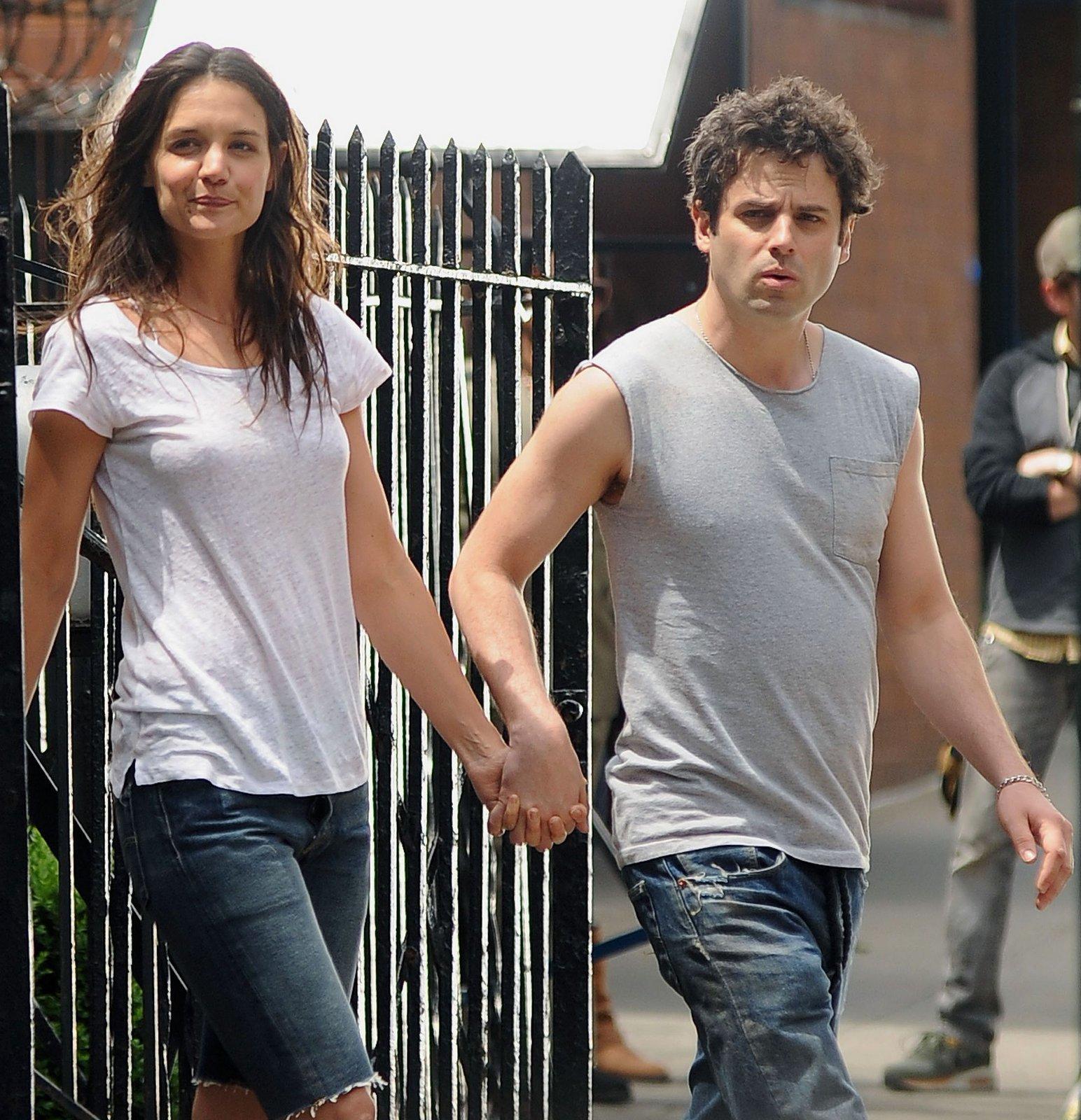 Katie Holmes and Luke Kirby