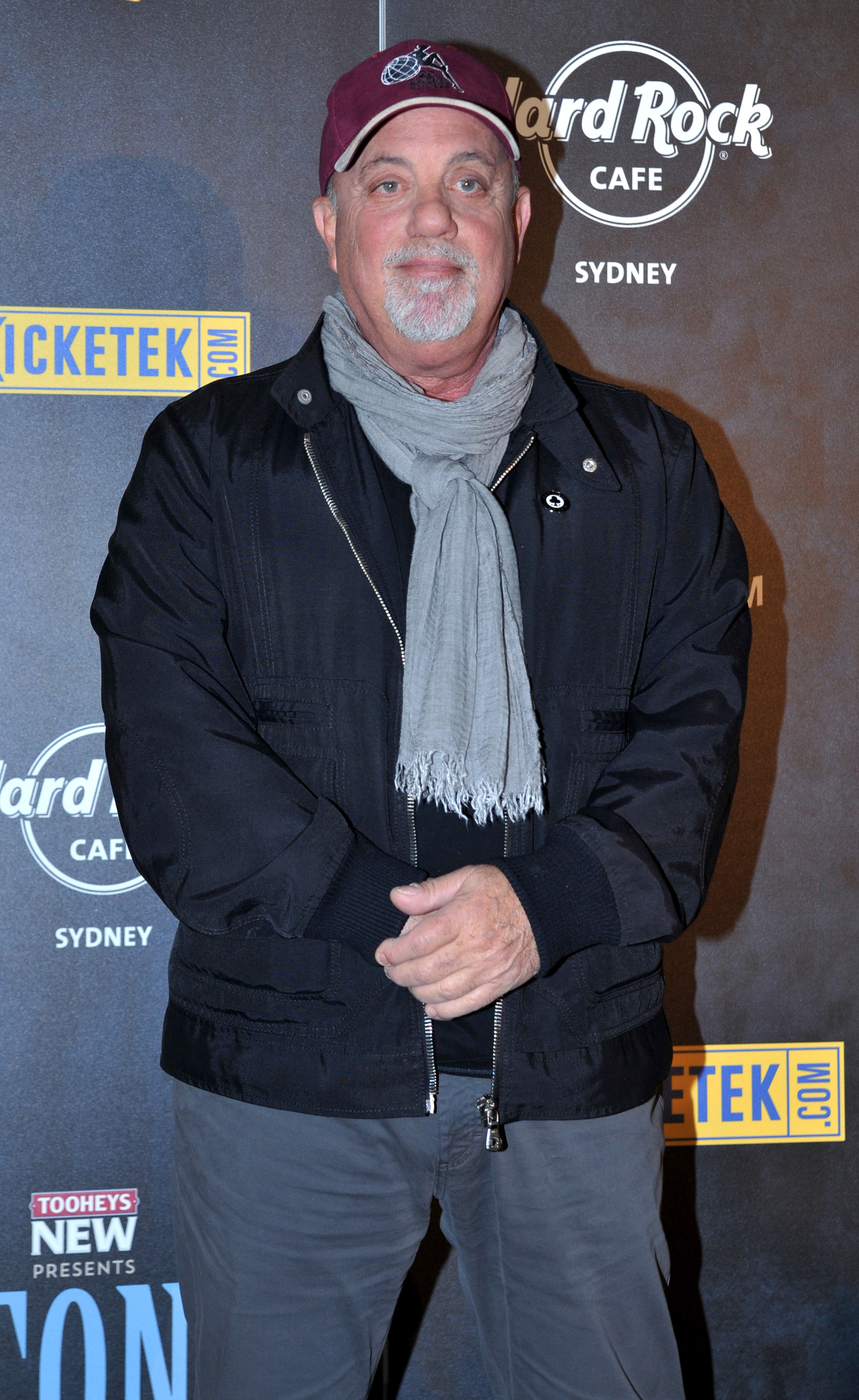 Billy Joel was behind Bruce Springsteen's recent motorcycle bust