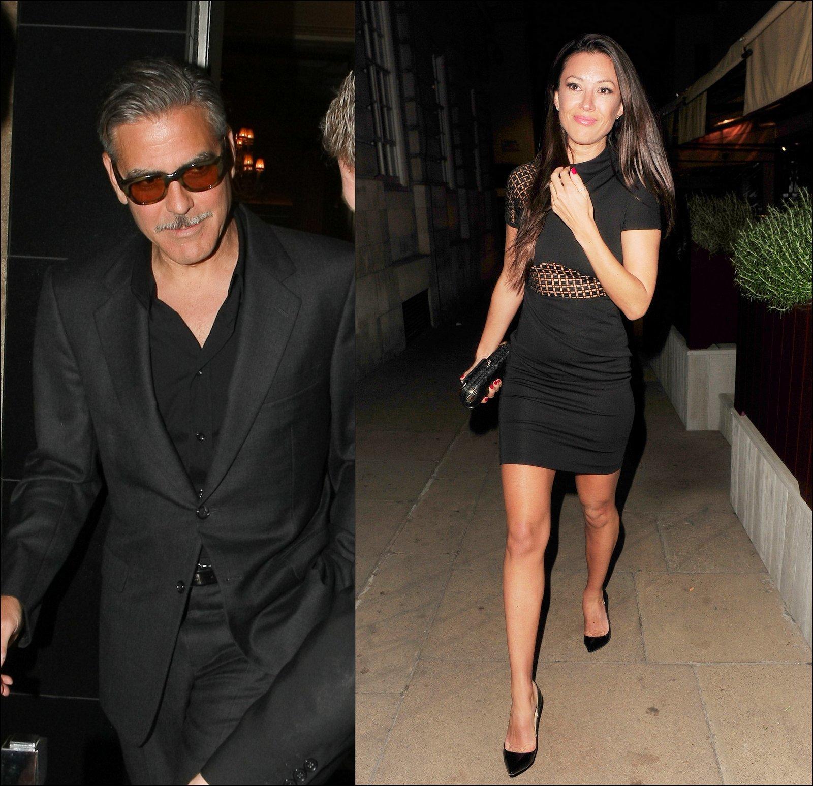 George Clooney Monika Jakisic