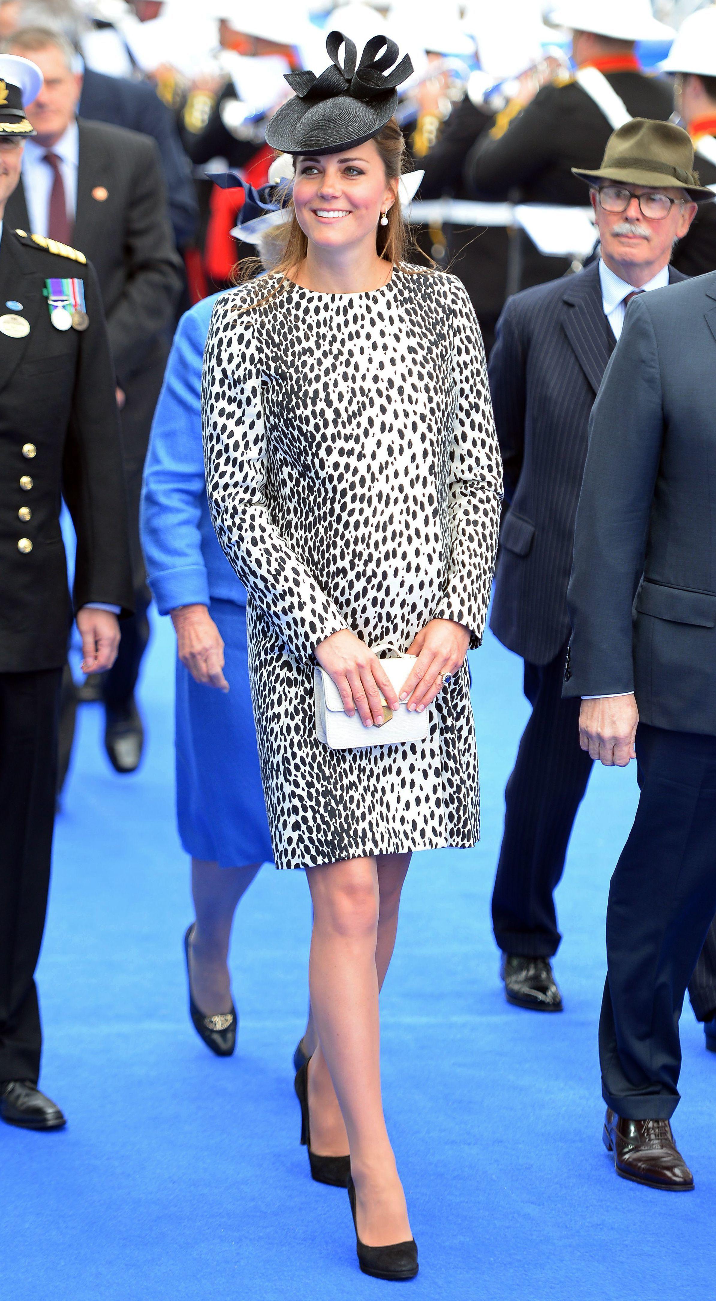 Duchess Kate leopard dress