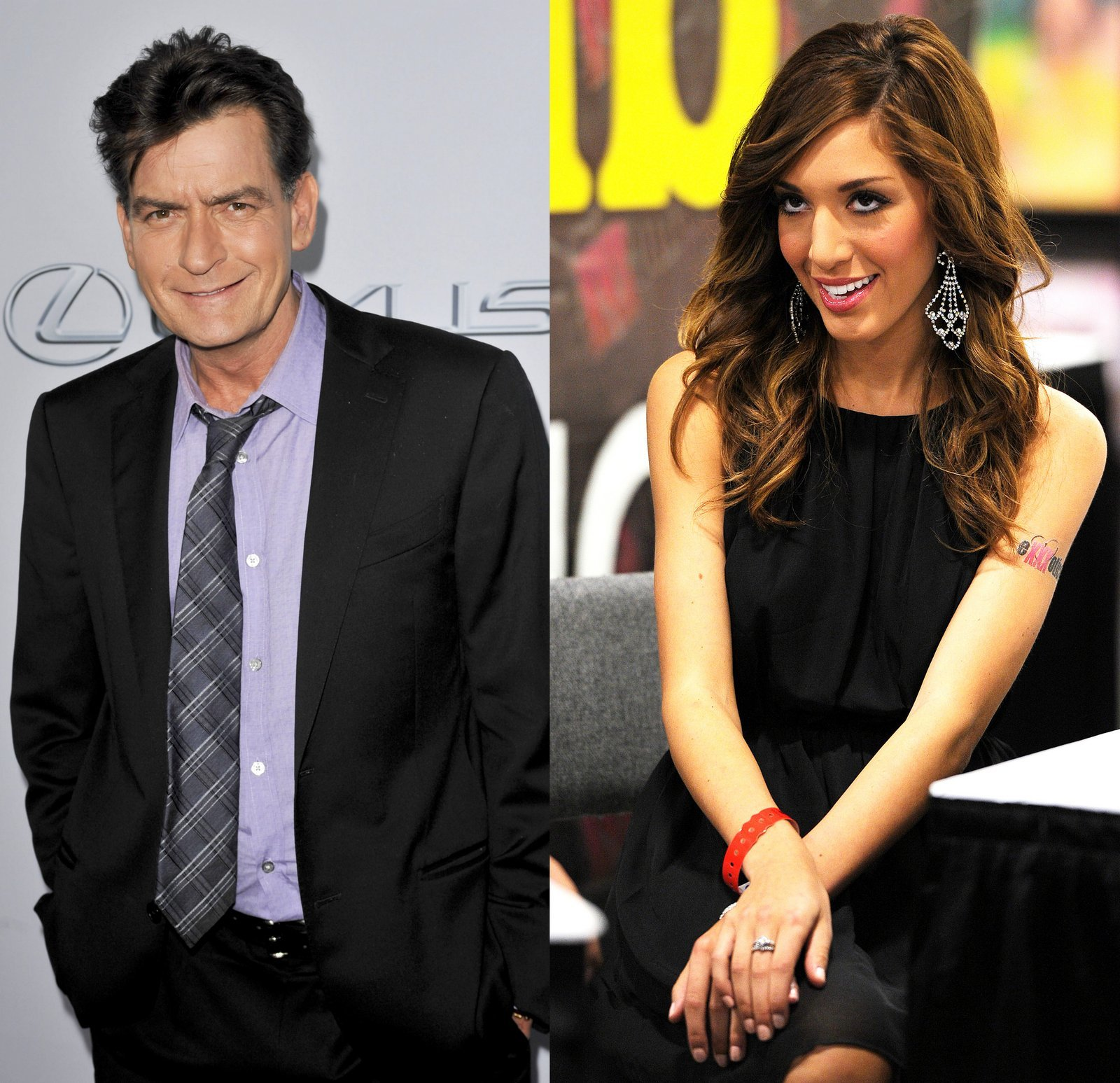 Charlie Sheen and Teen Mom