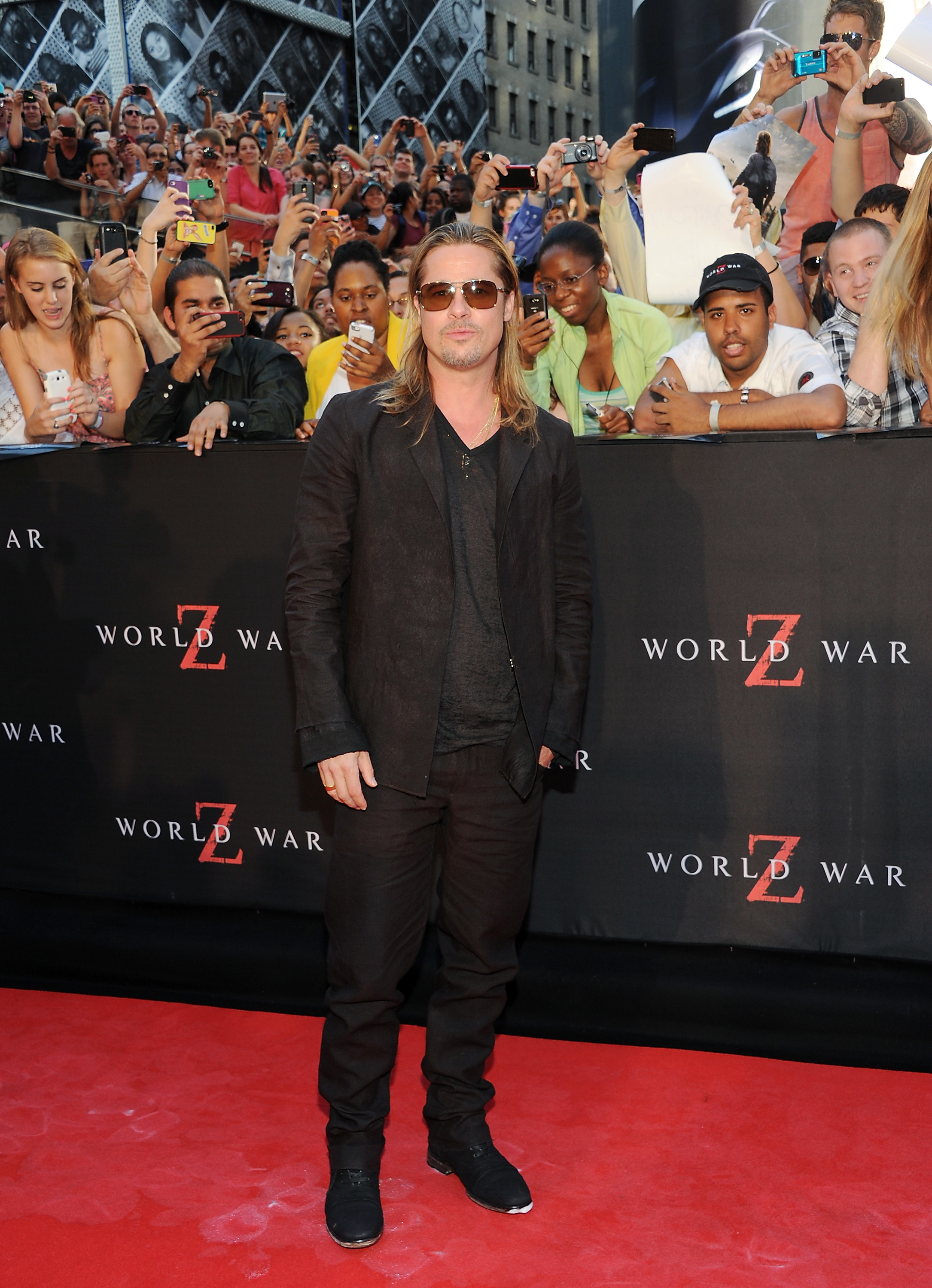 Is Brad Pitt still hot    or not? Cast your vote for his changing looks!