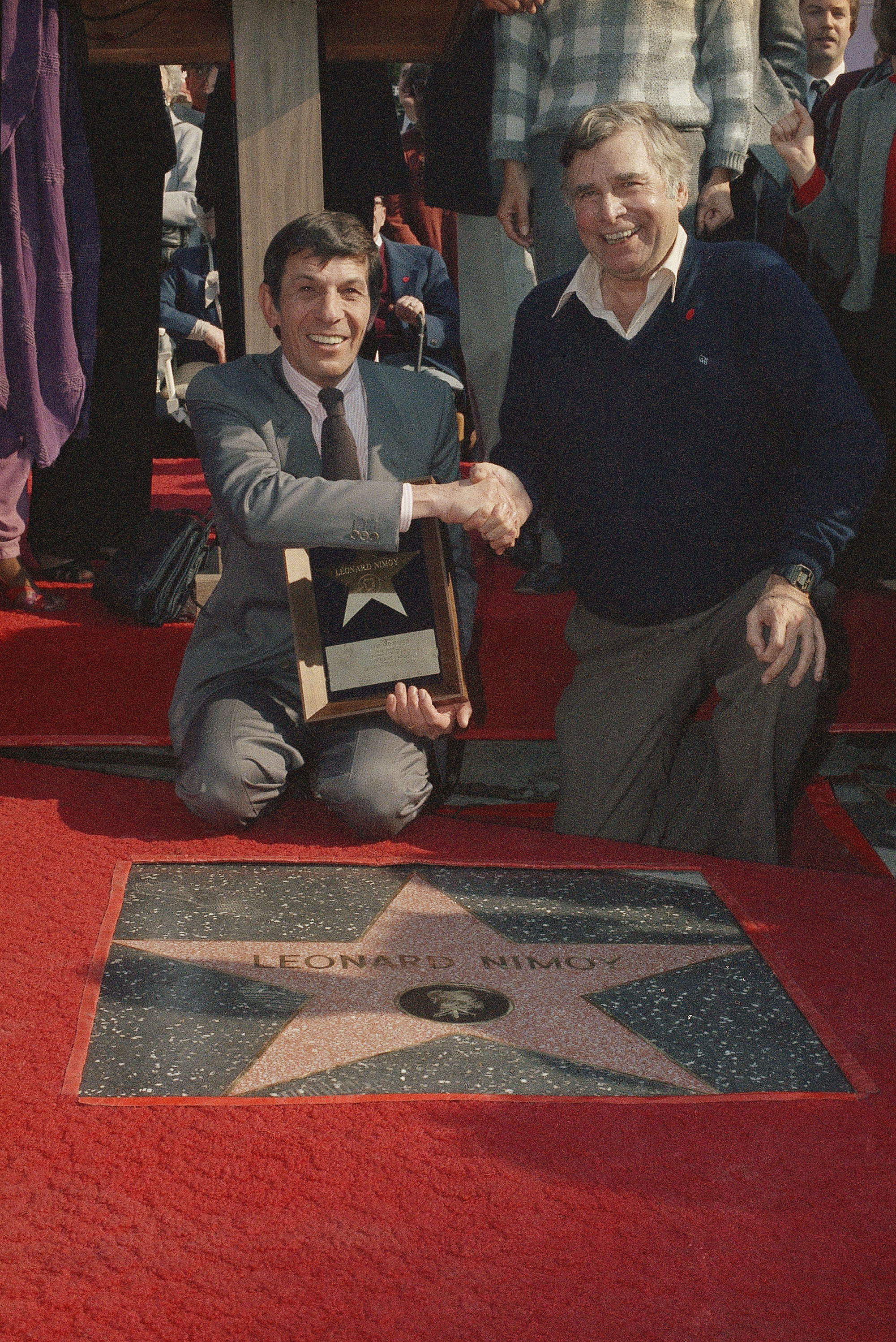 Gene Roddenberry Leonard Nimoy