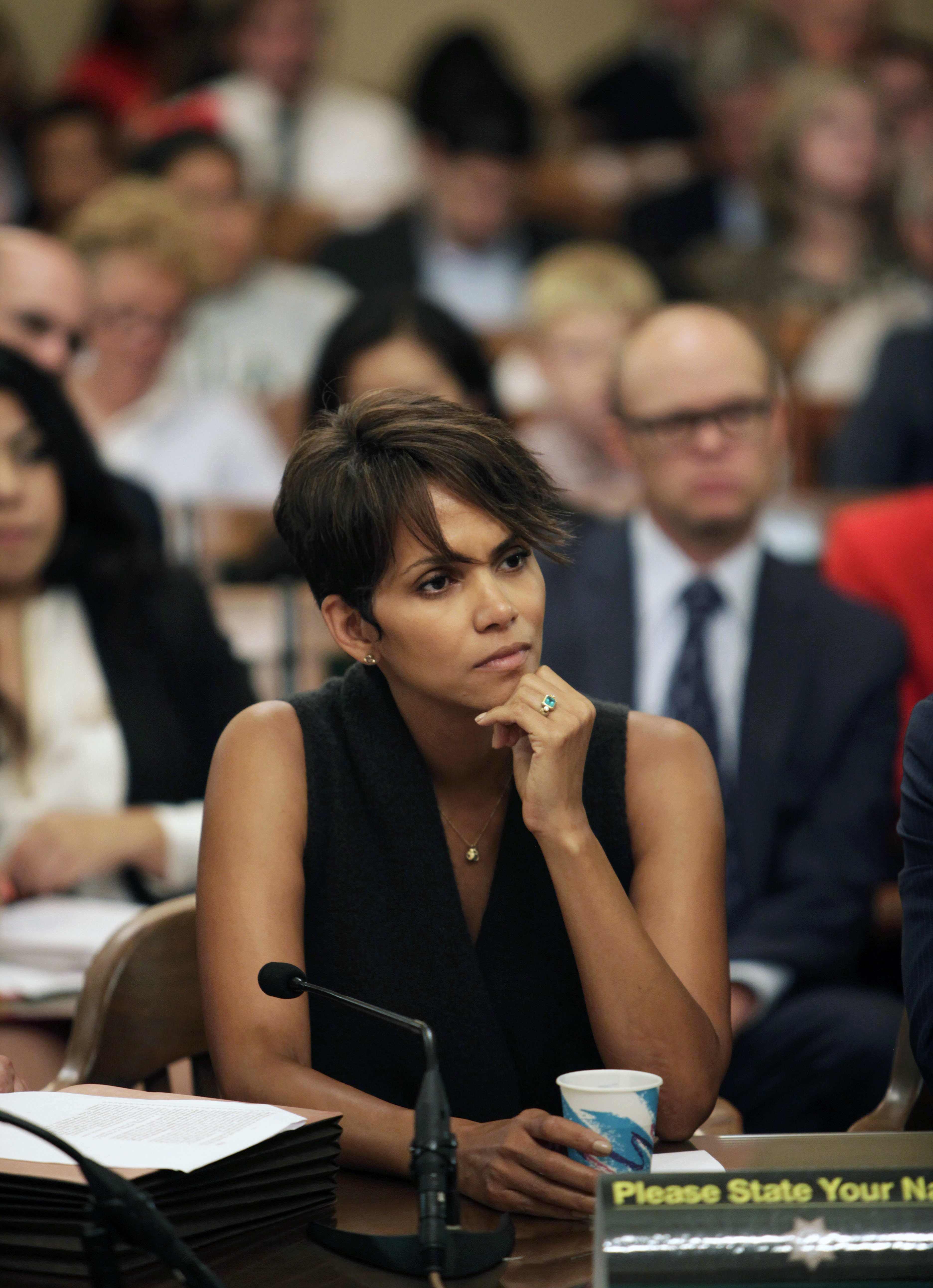 Halle Berry testify