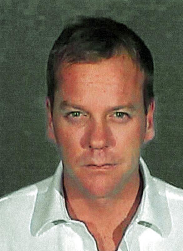 Kiefer Sutherland served seven weeks