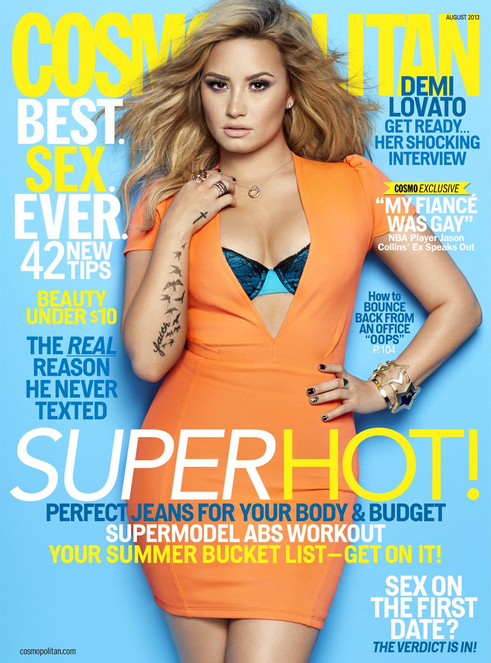 Demi Lovato suicidal 7 cosmopolitan