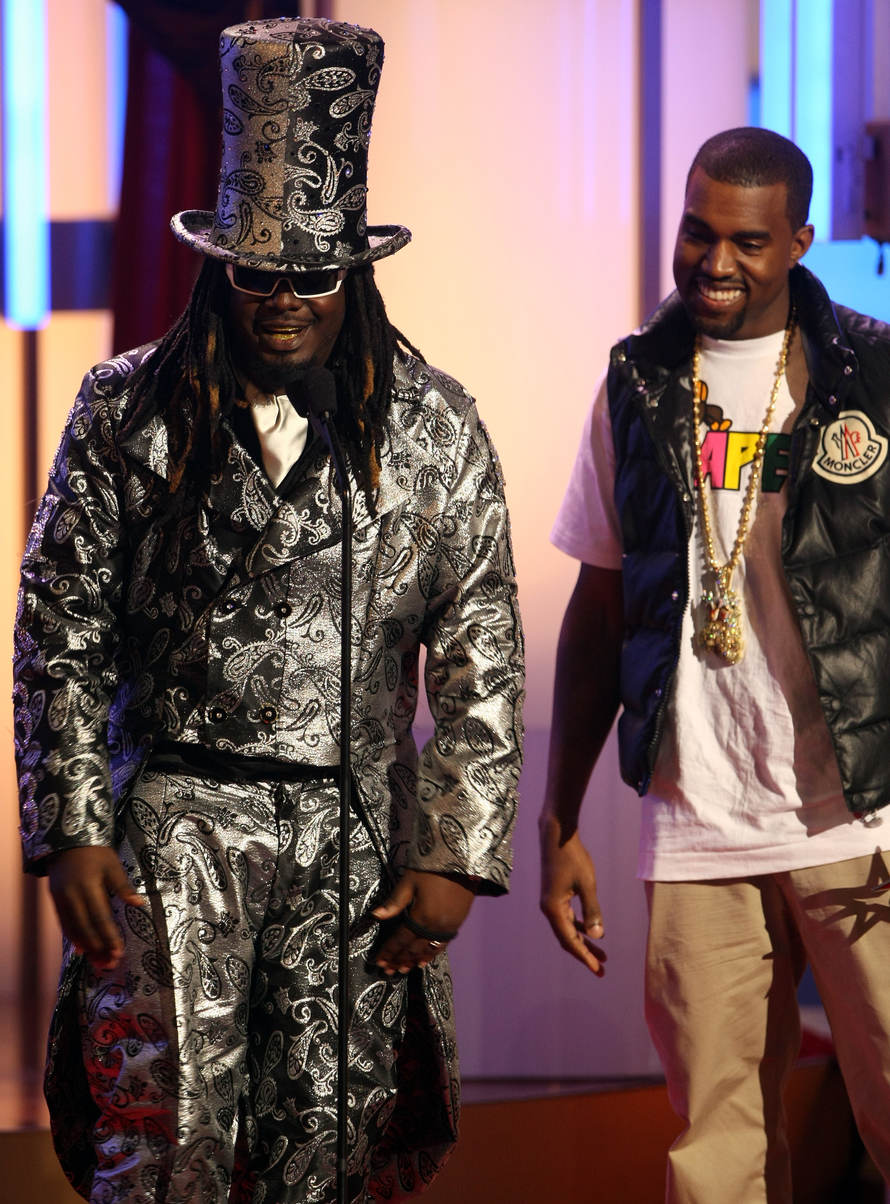 t pain and kanye west