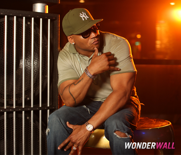 LL Cool J Wonderwall photo booth iHeartRadio Ultimate Pool Party