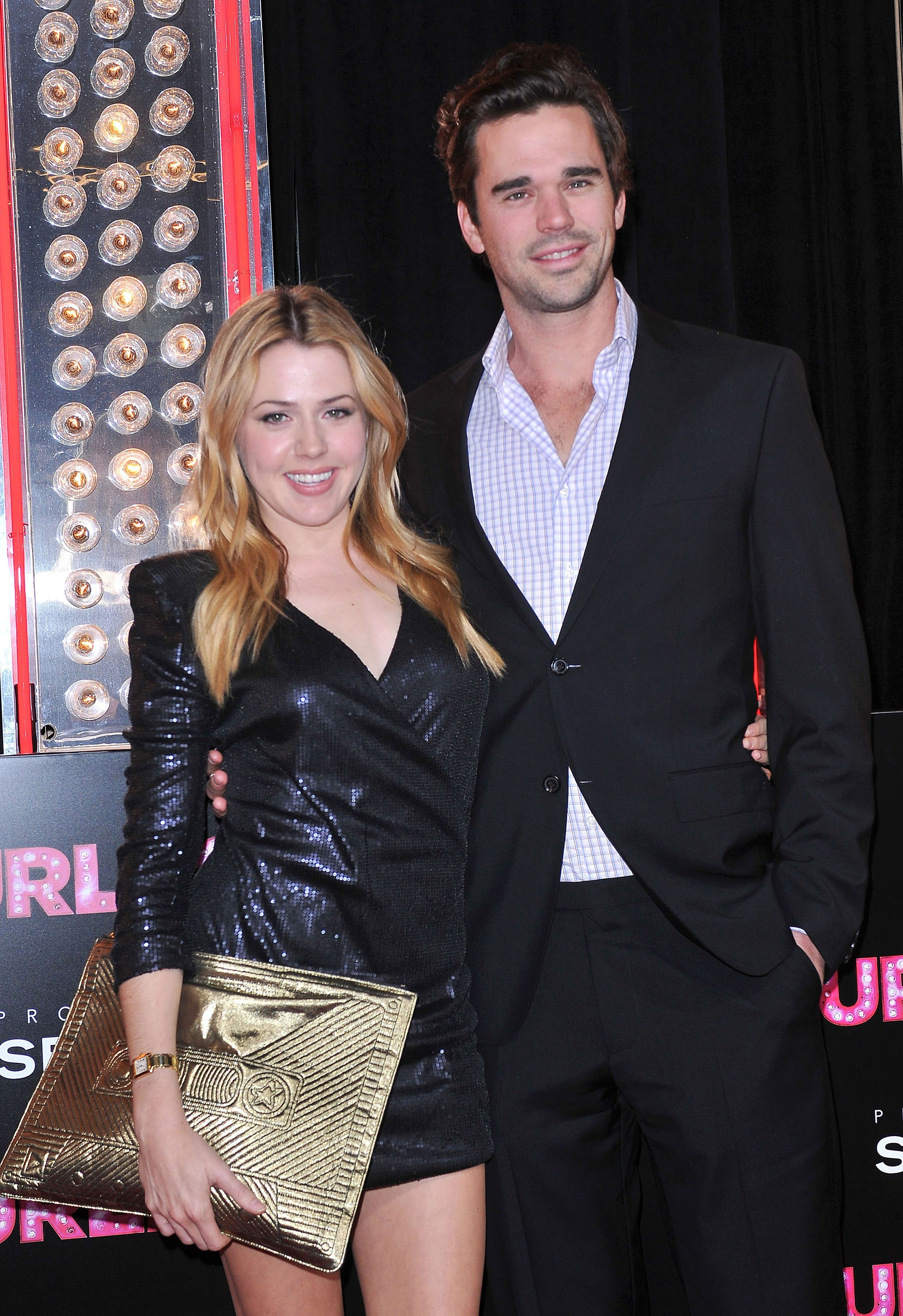 Majandra Delfino and David Walton
