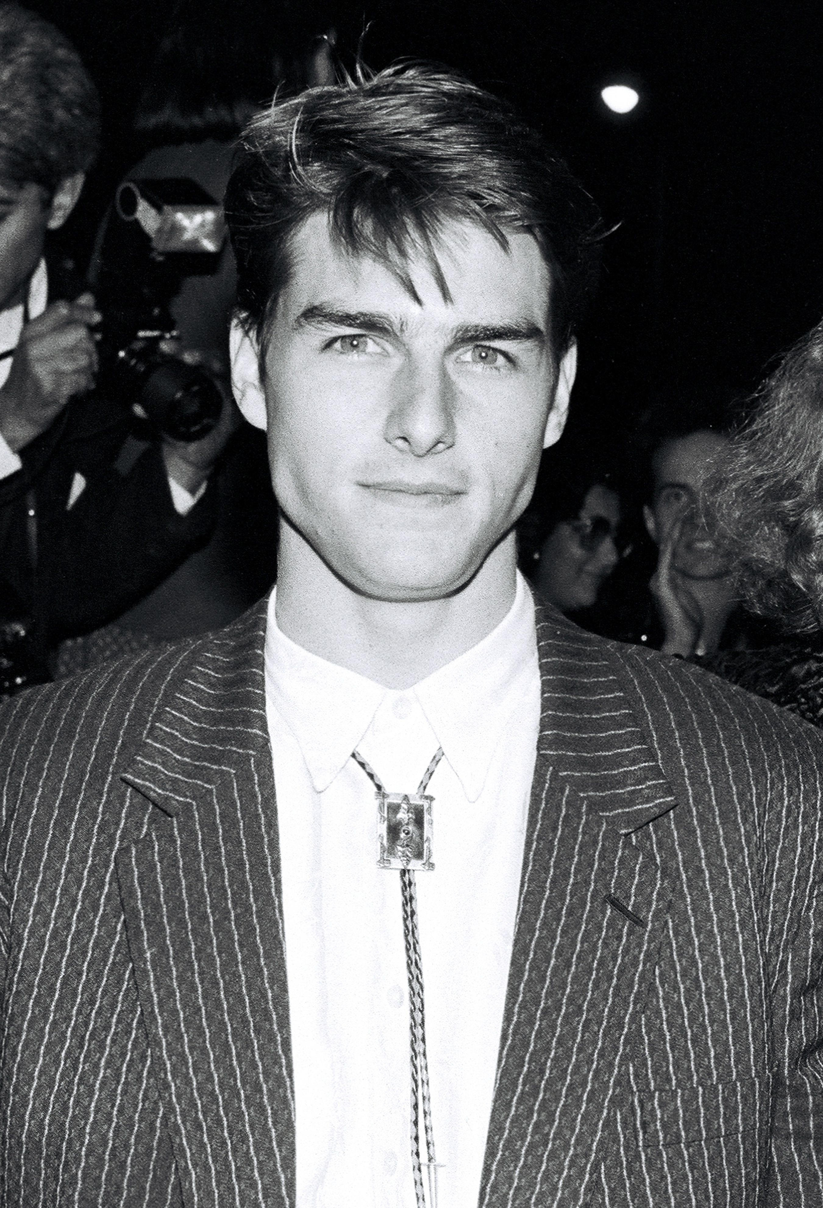Tom Cruise ageless face