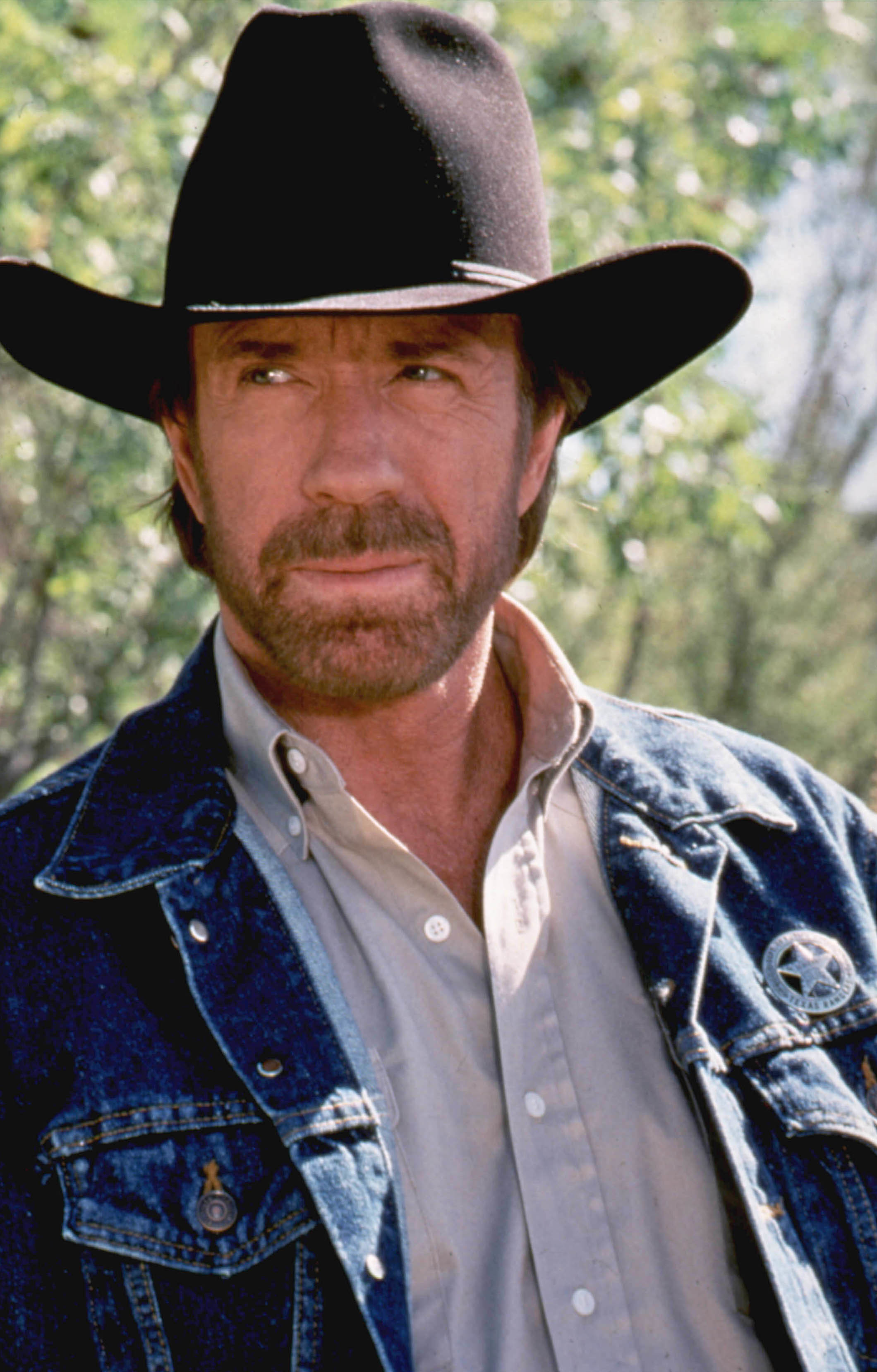 chuck norris cowboy