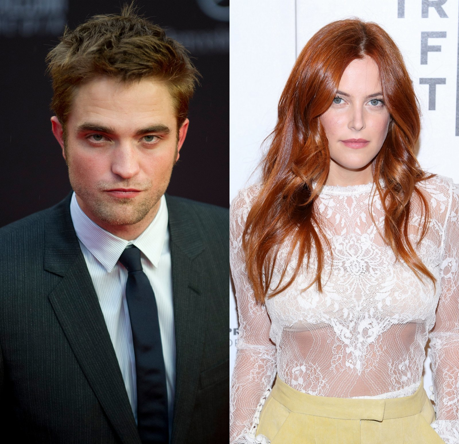 Robert Pattinson and Riley Keough
