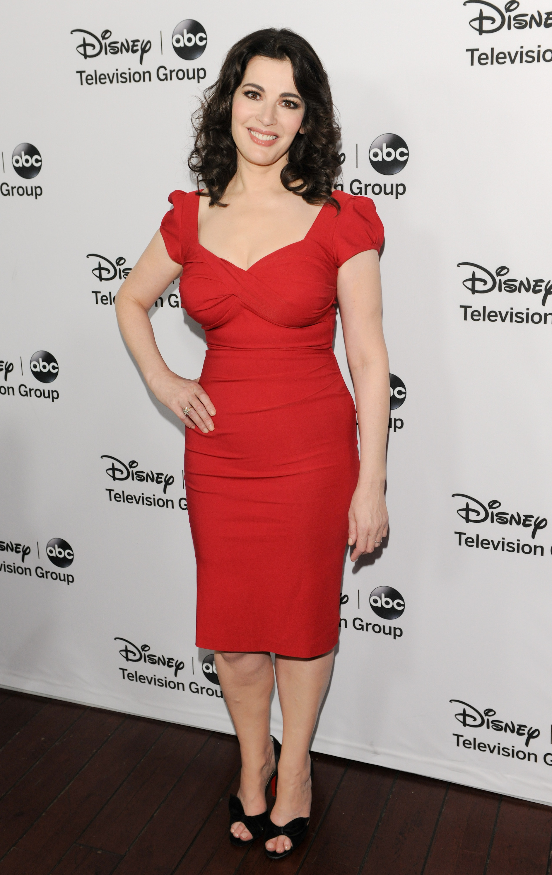 Nigella Lawson red carpet