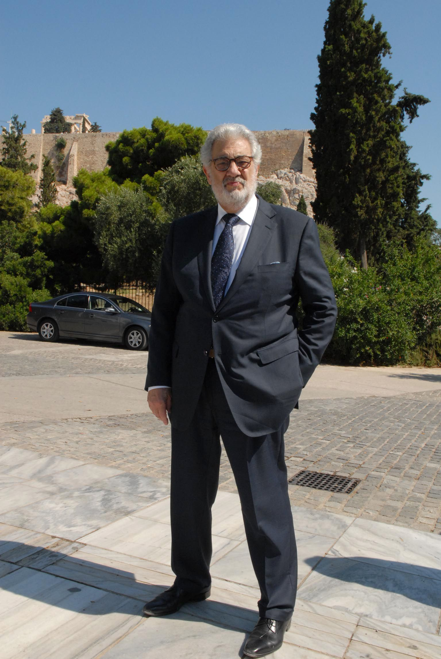 Placido Domingo hospitalized
