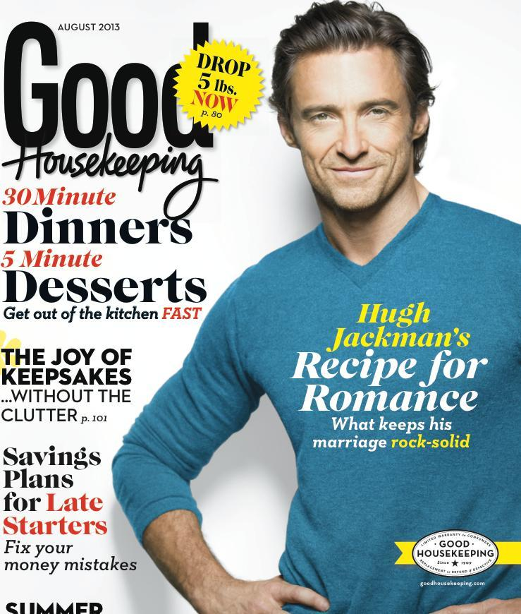 hugh jackman good housekeeping