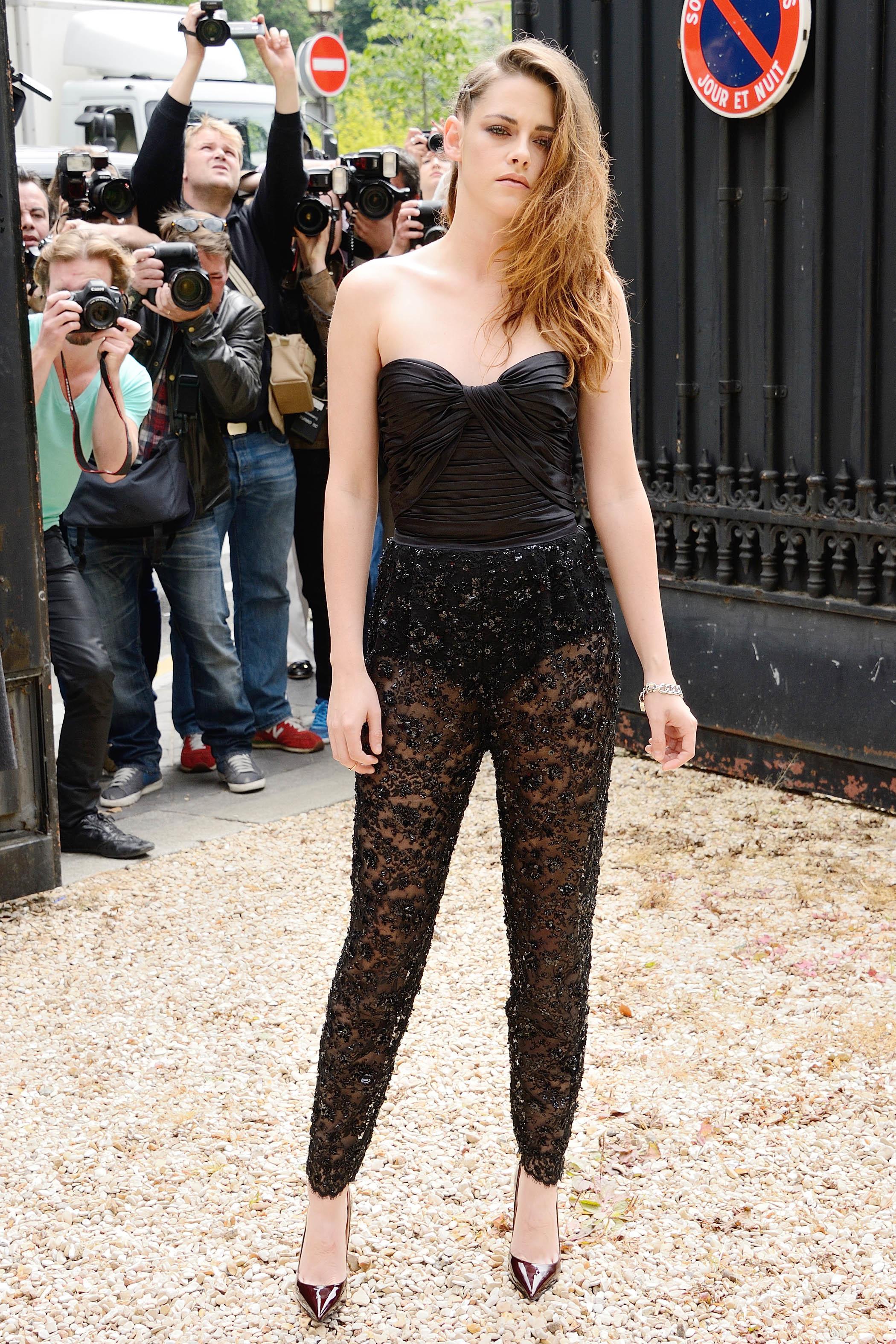 Kristen Stewart Paris Fashion Week