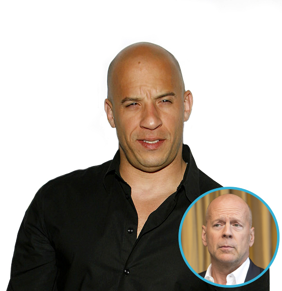 vin diesel with hair