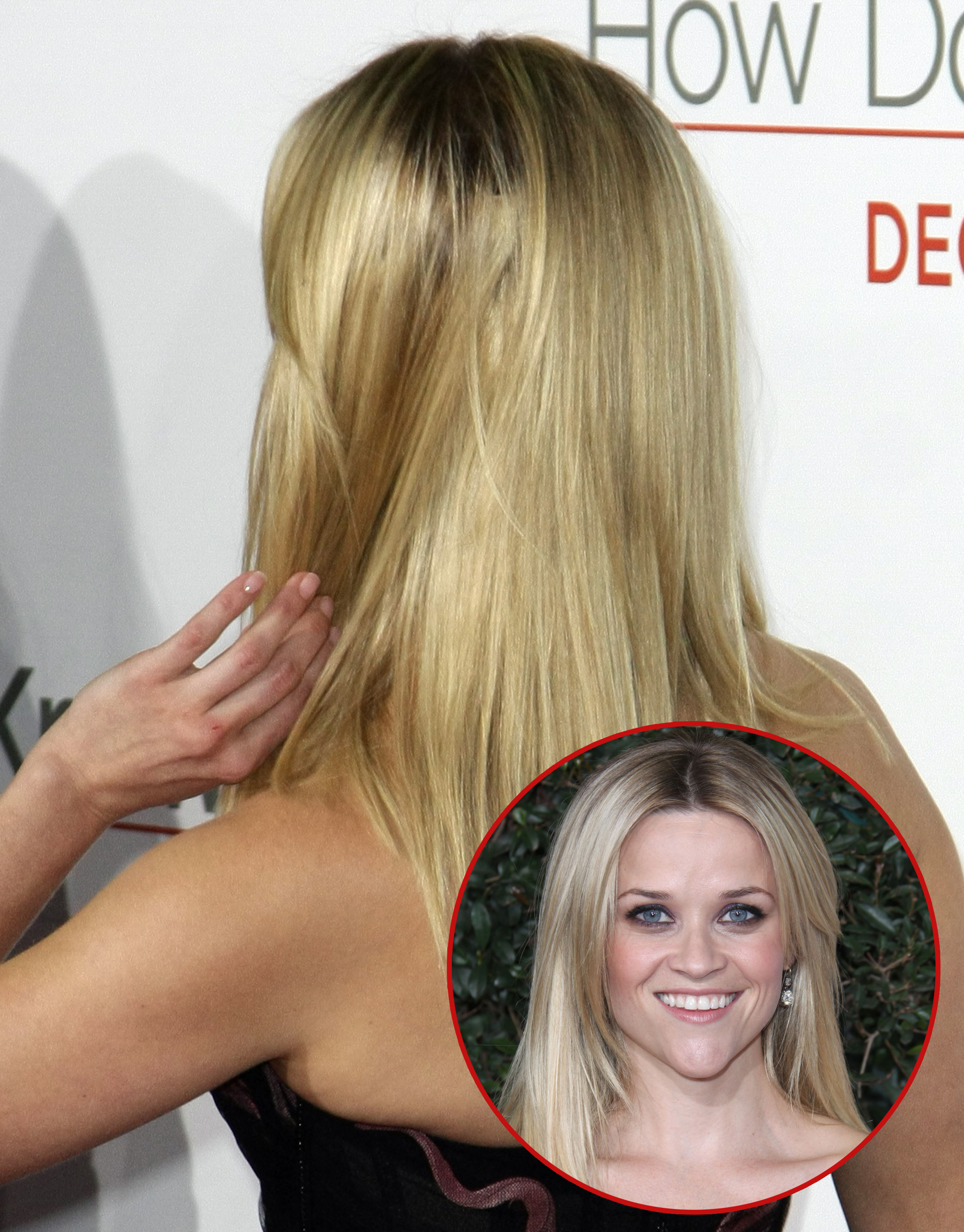 Reese Witherspoon hair extension