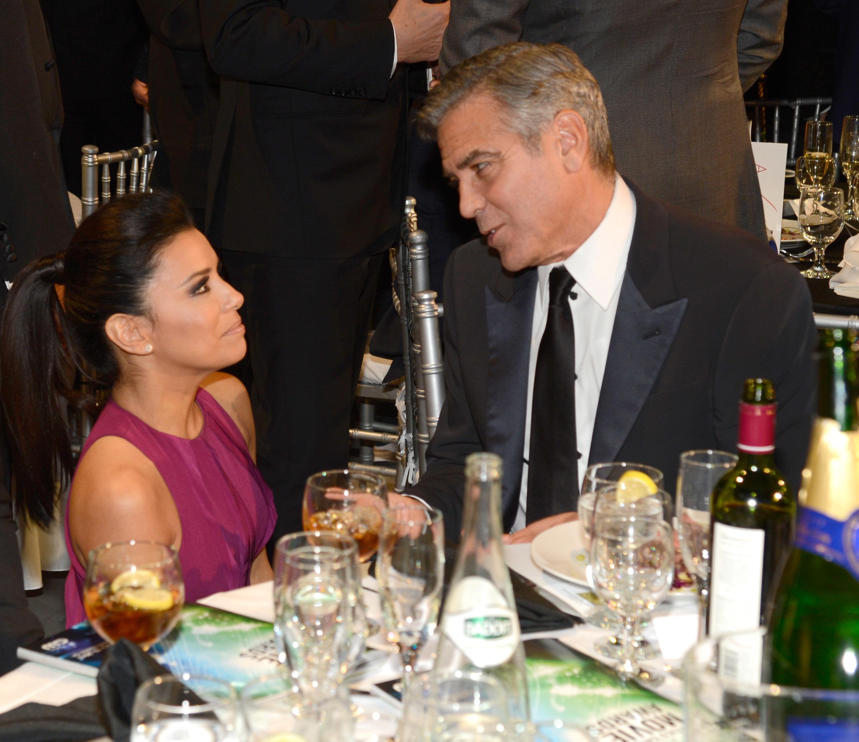 Eva Longoria George Clooney hookup