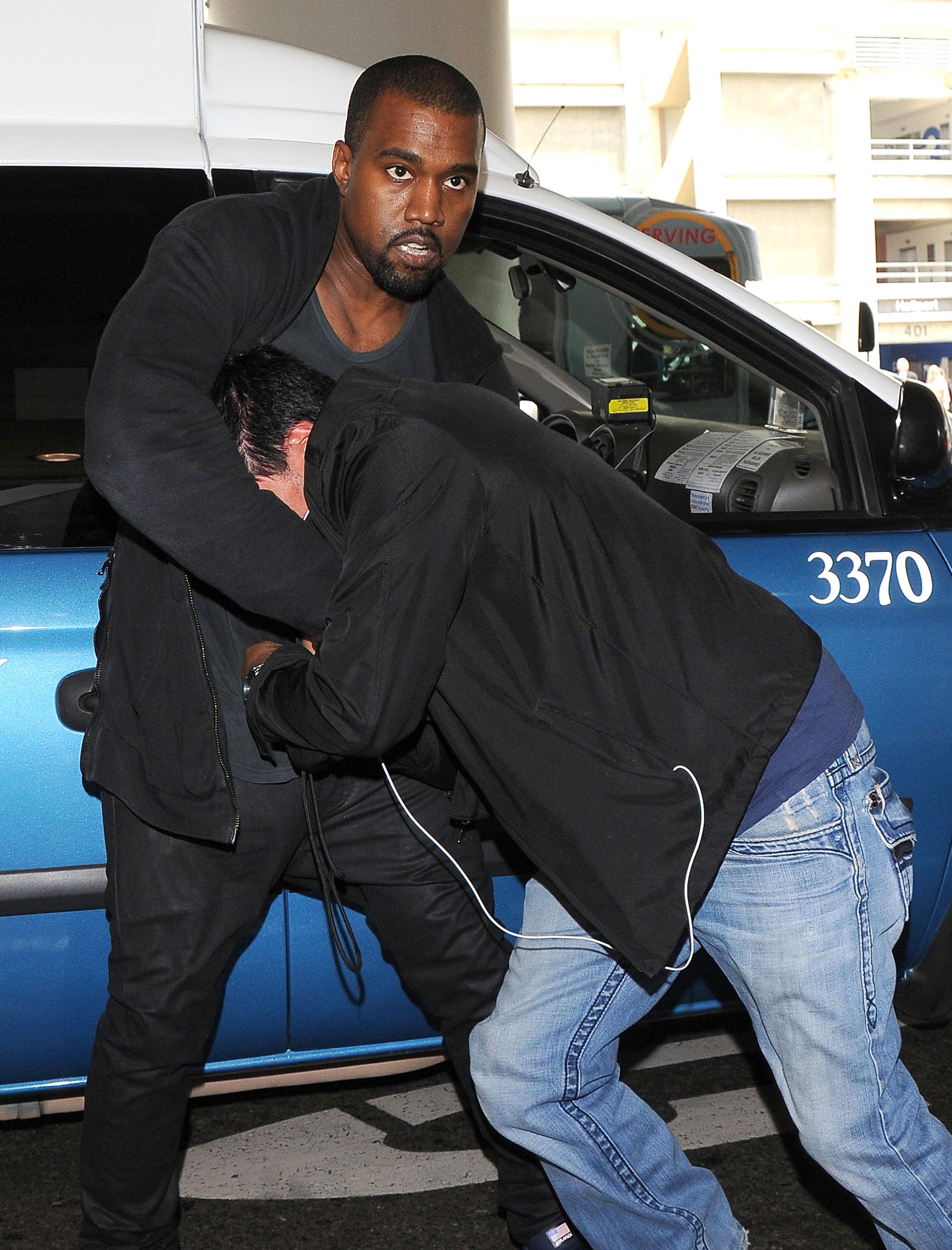 Kanye West paparazzi