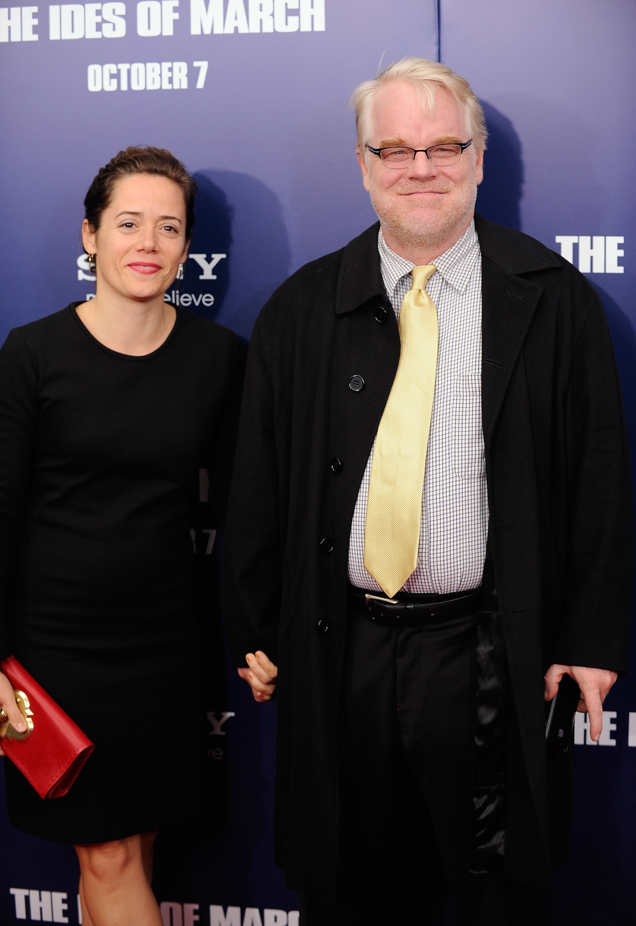 Philip Seymour Hoffman girlfriend
