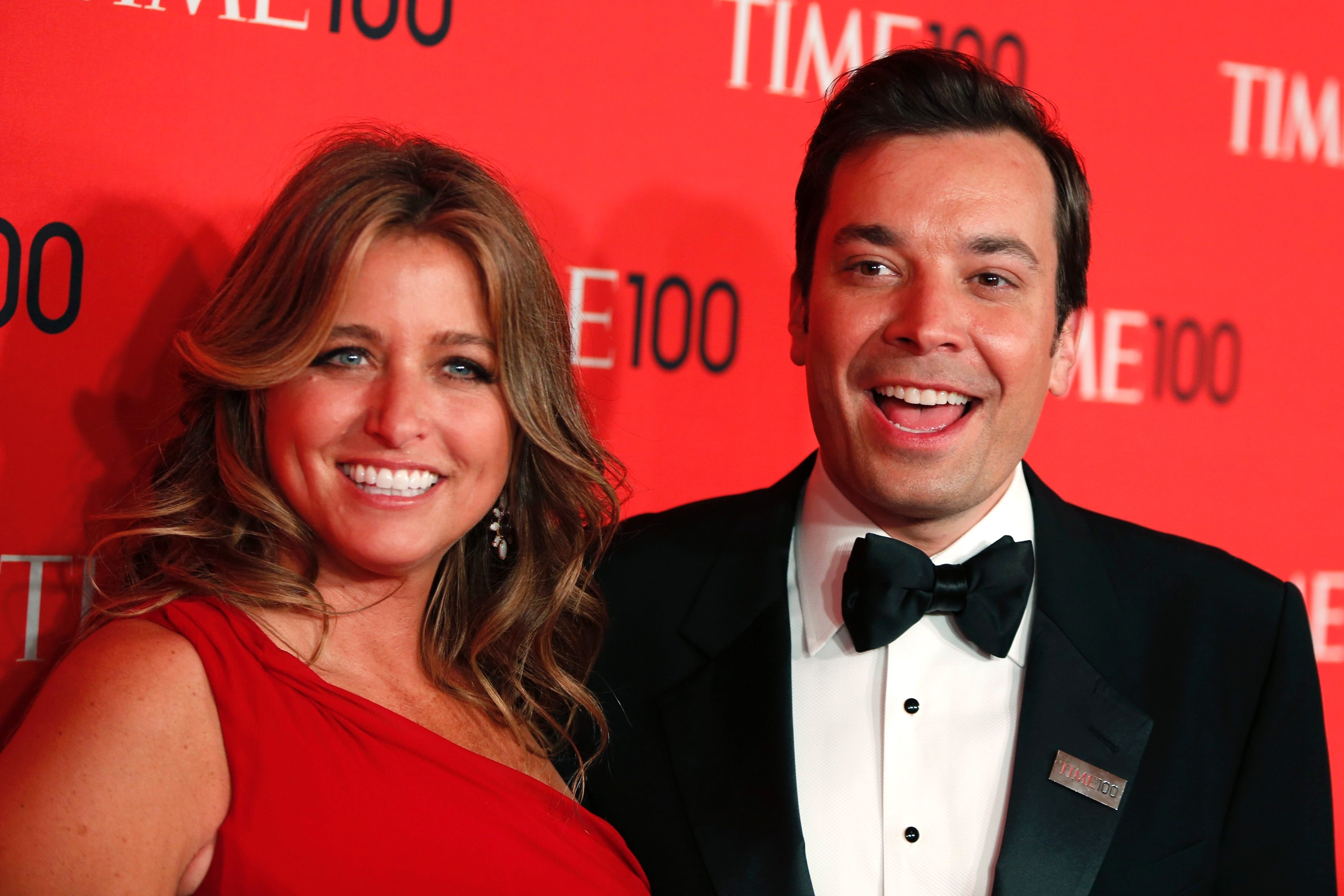 Jimmy Fallon father baby welcomes daughter girl wife surrogate pregnant