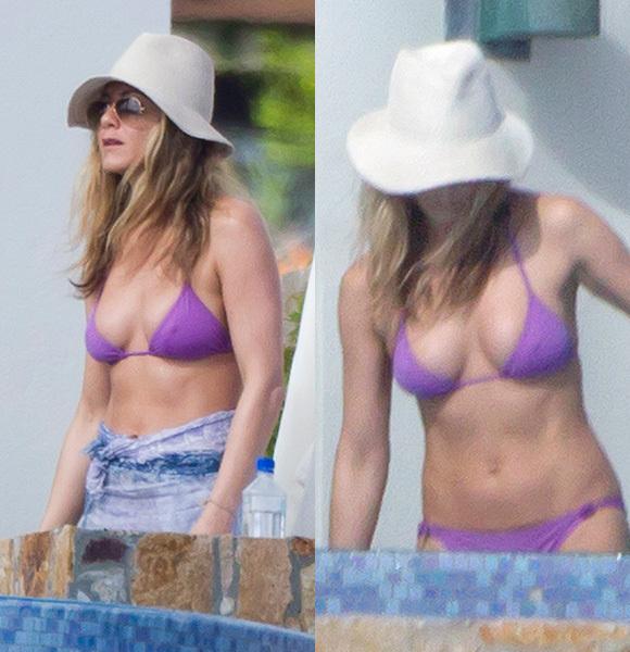 Jennifer Aniston abs