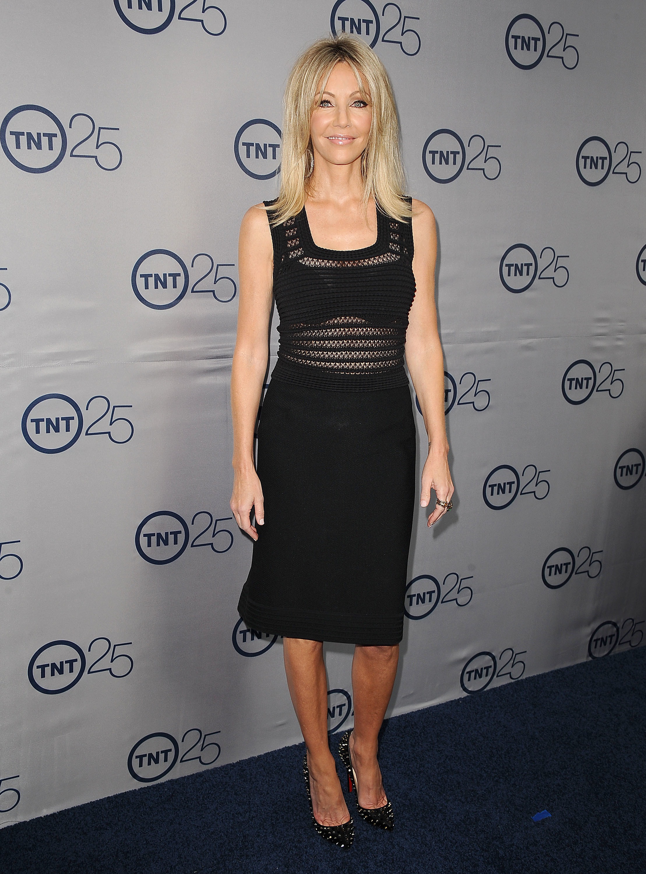 heather locklear sheer dress