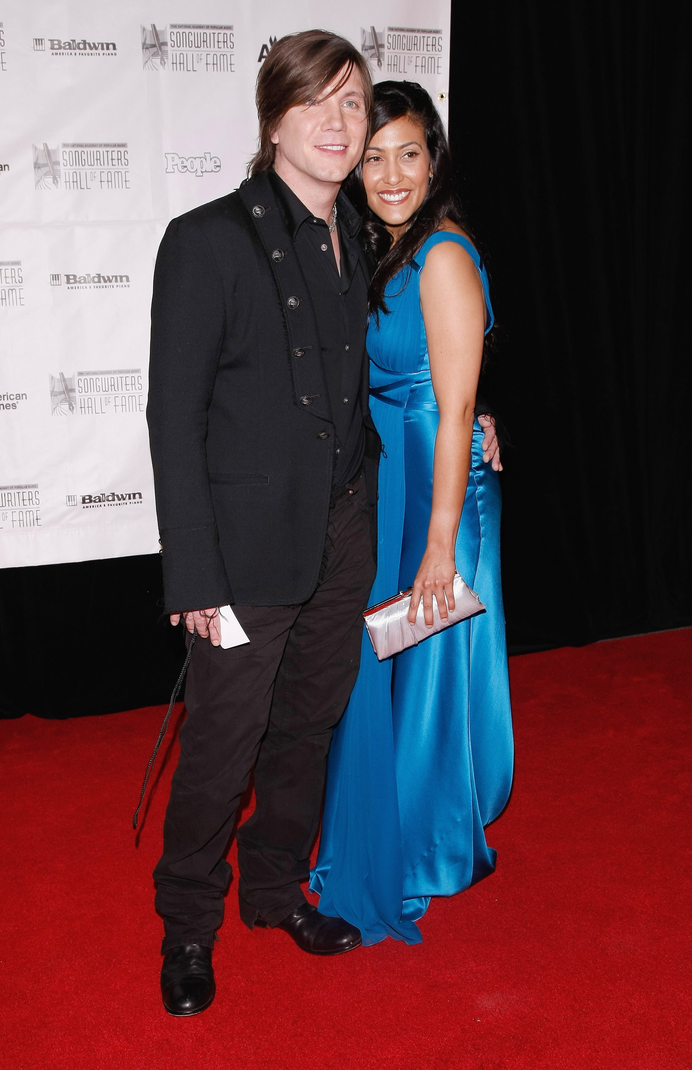 John Rzeznik and Melina Gallo