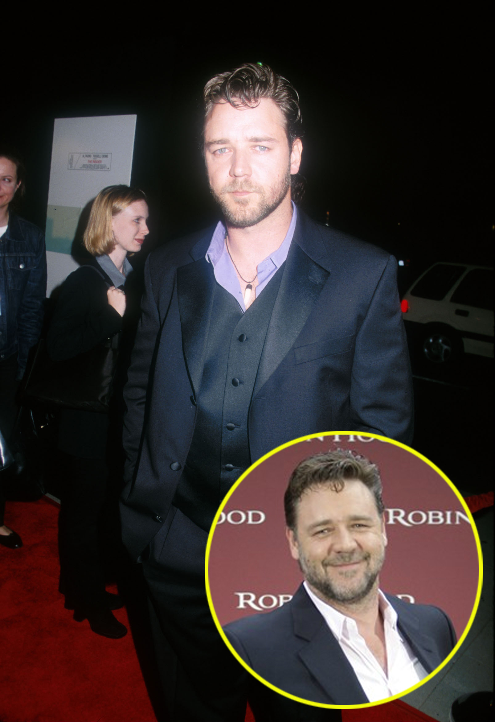 russell crowe hot
