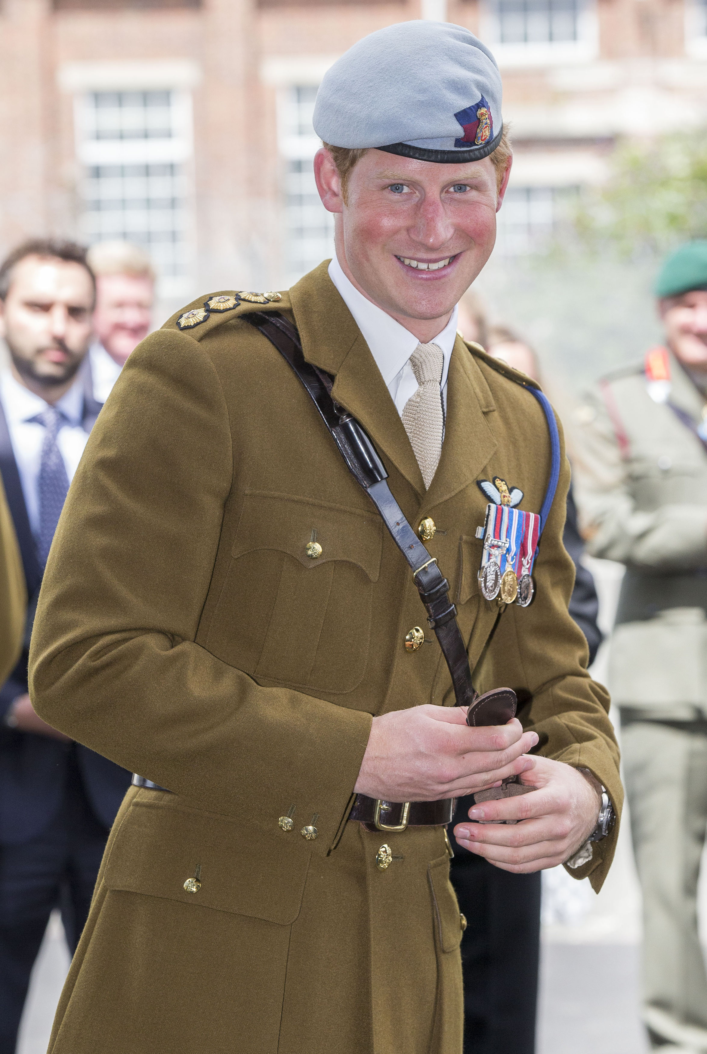 Prince Harry beret