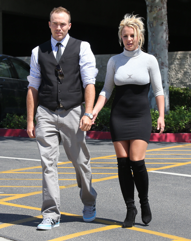 Britney Spears church