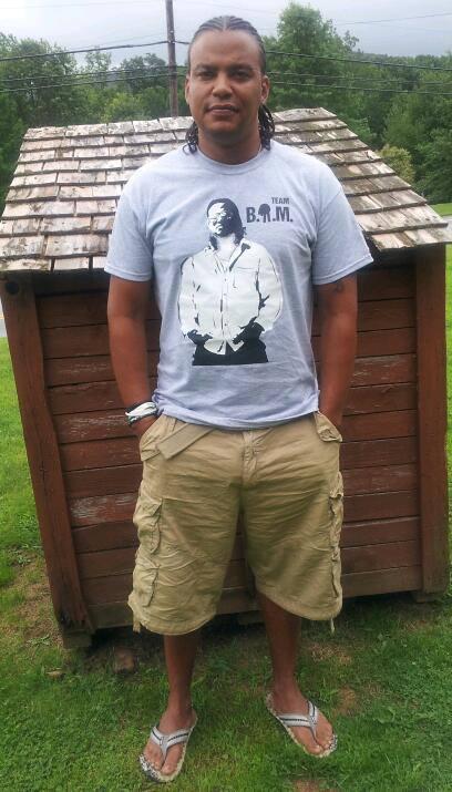 Black Amish man