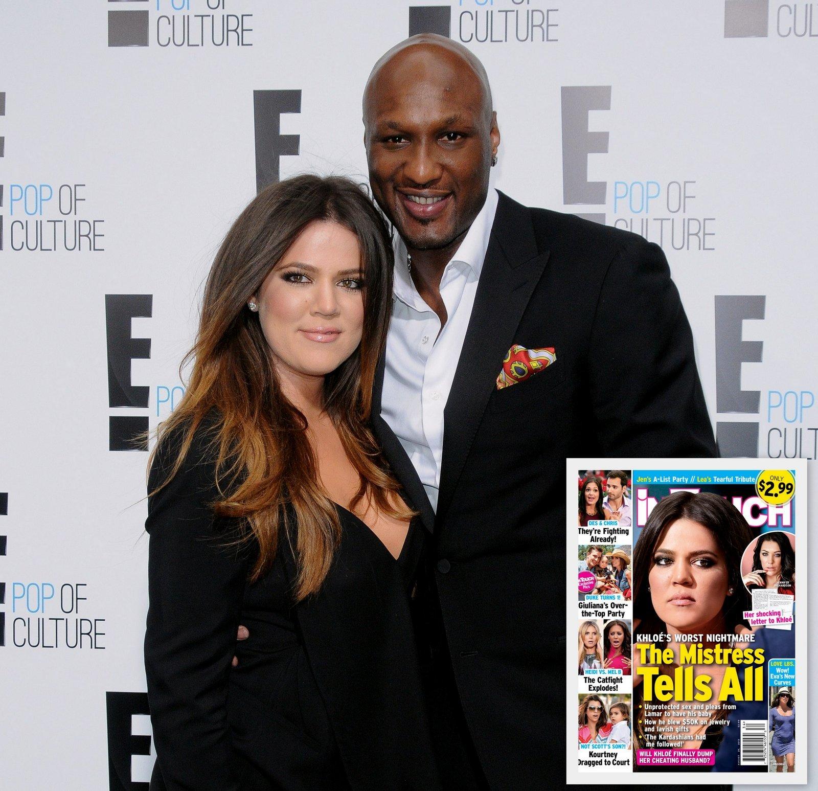Khloe Kardashian Lamar Odom affair divorce