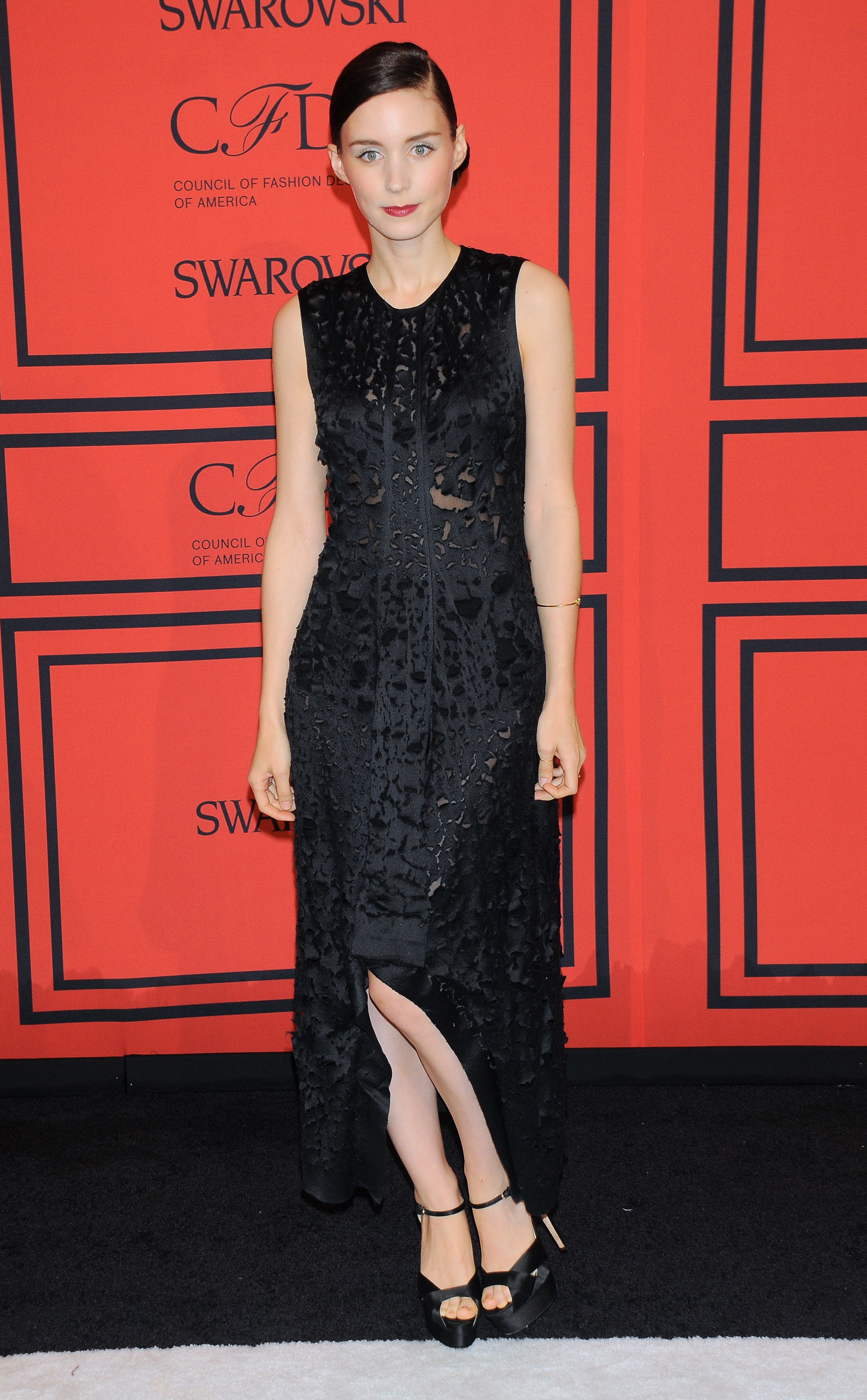rooney mara black dress