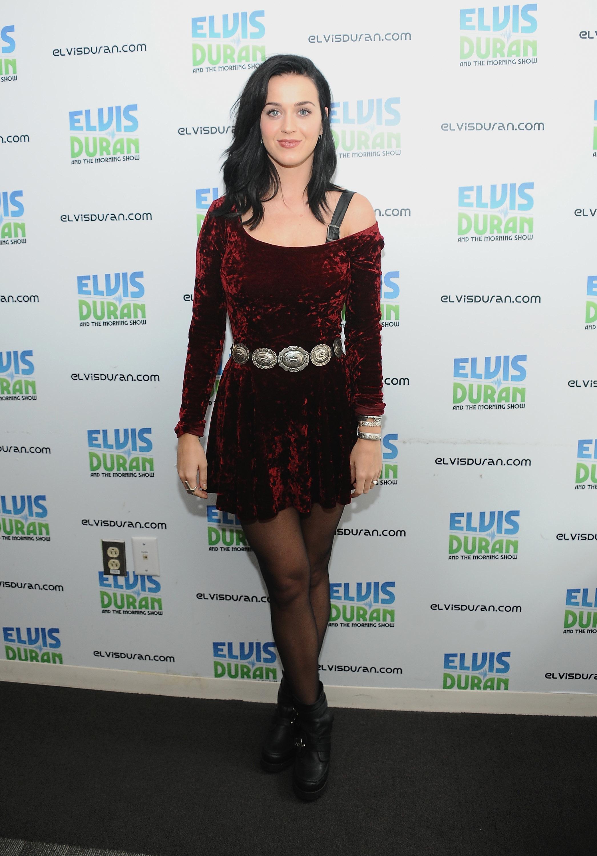 Katy Perry crushed velvet
