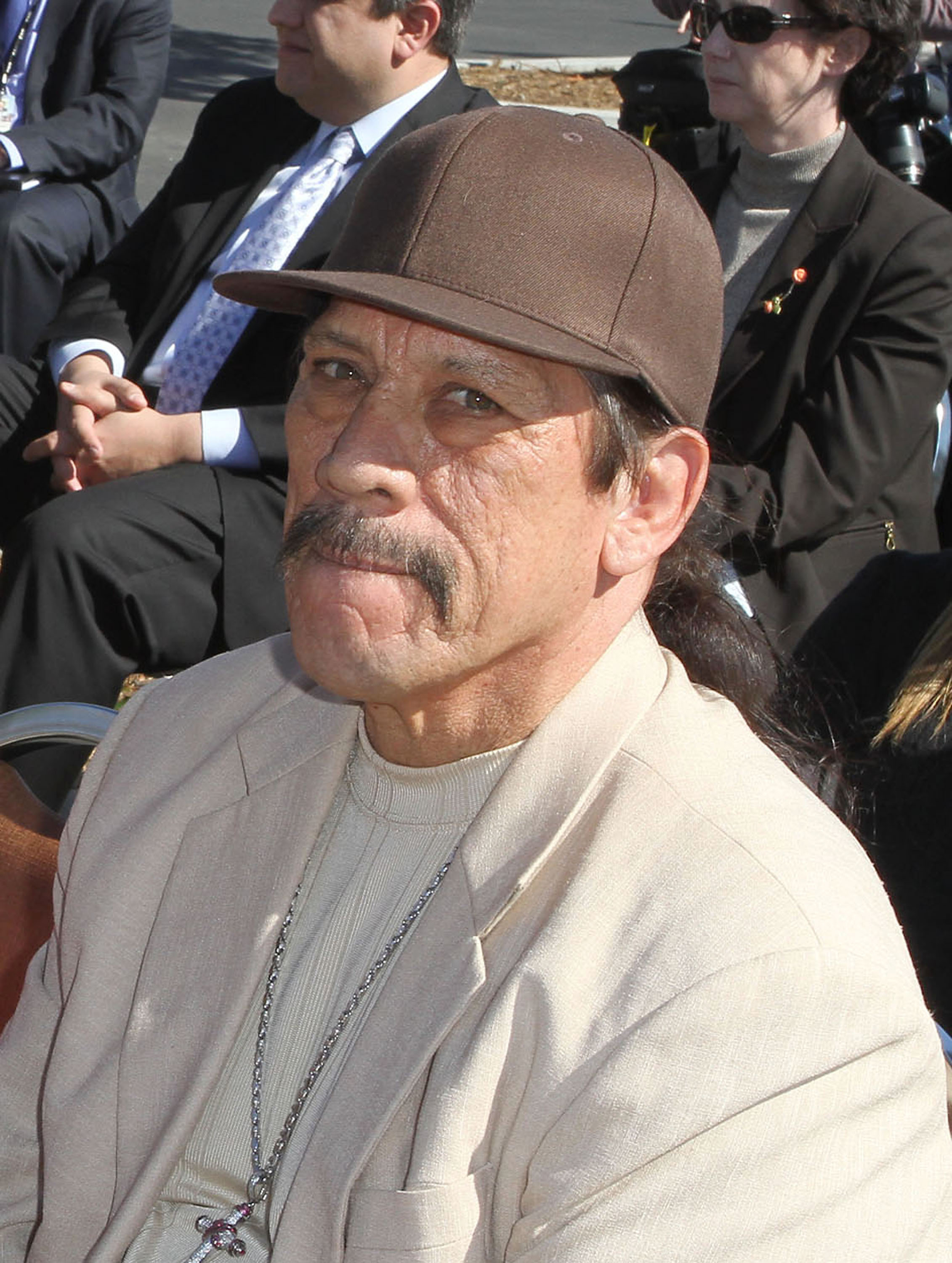 Danny Trejo was in and out of prison in the '60s and '70s