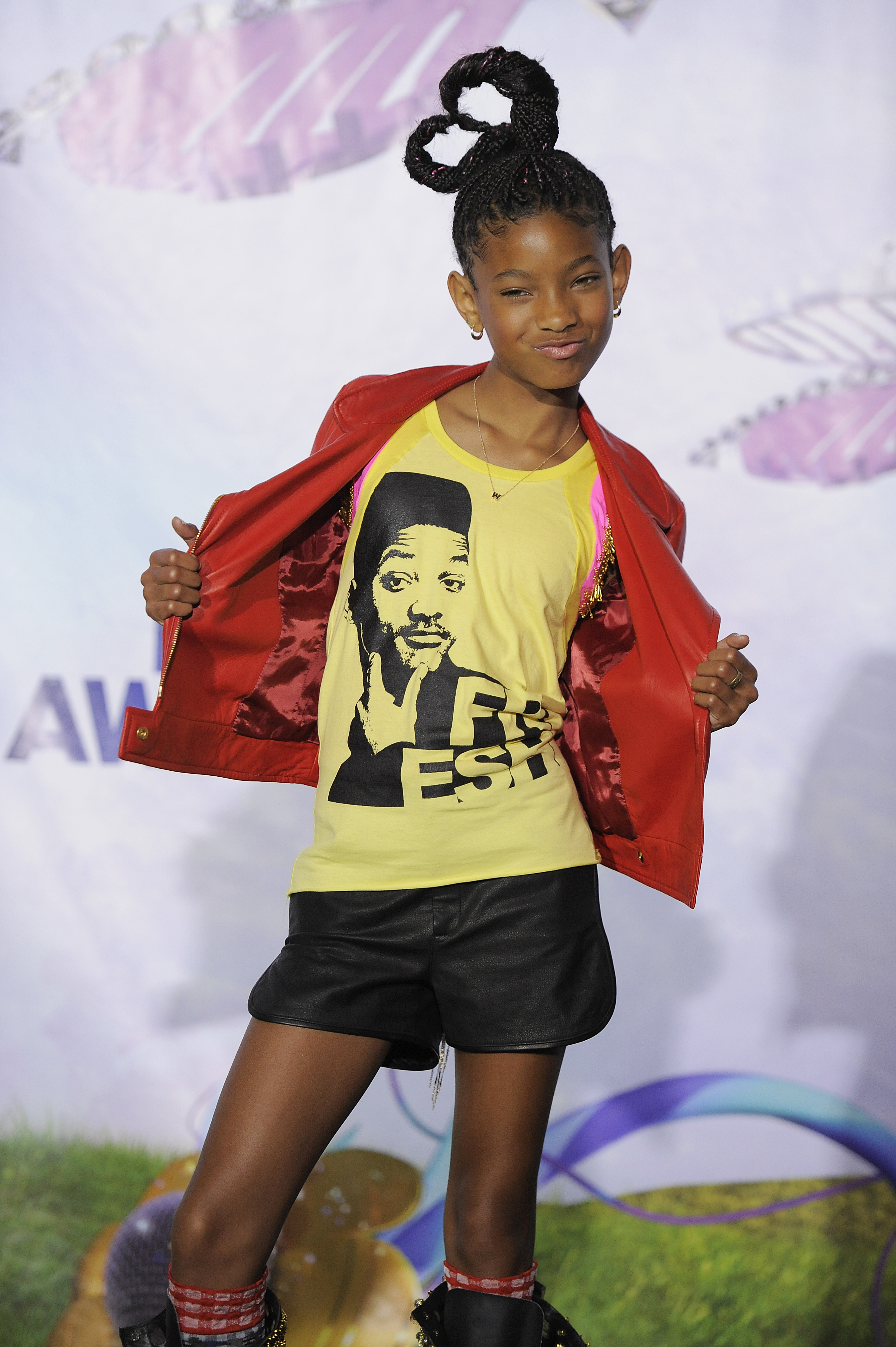 willow smith will smith shirt