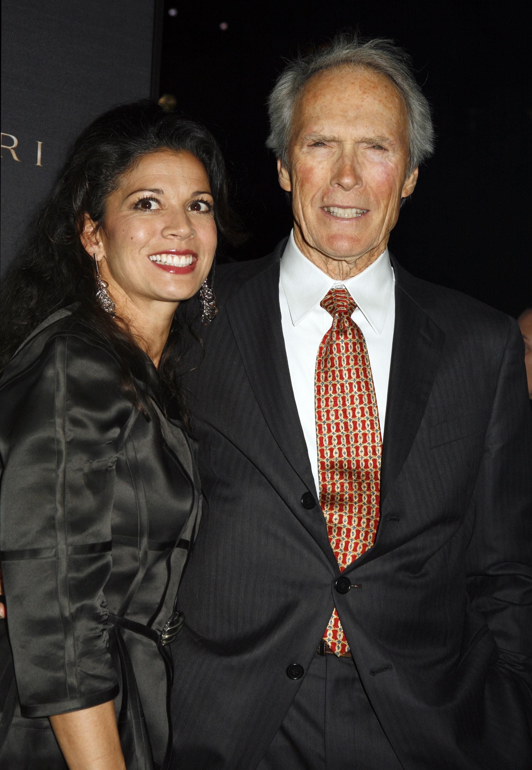 Clint Eastwood Dina Ruiz Eastwood